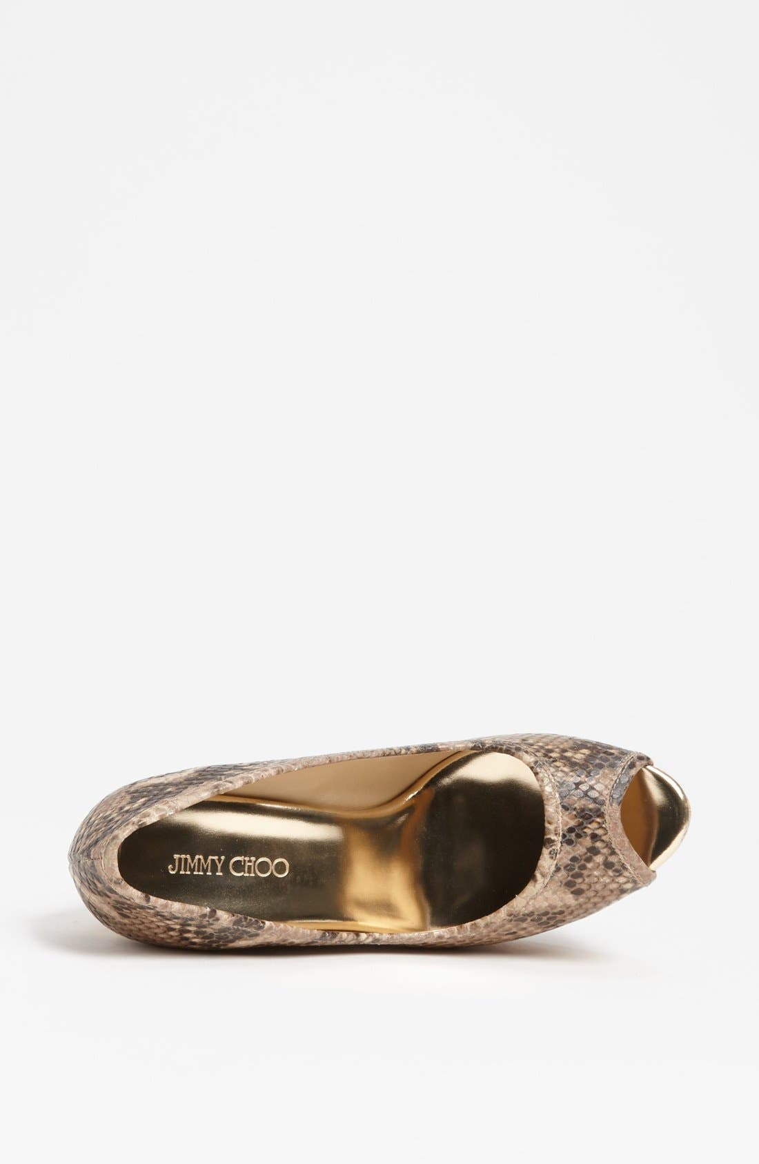 Alternate Image 3  - Jimmy Choo 'Papina' Cork Wedge Pump