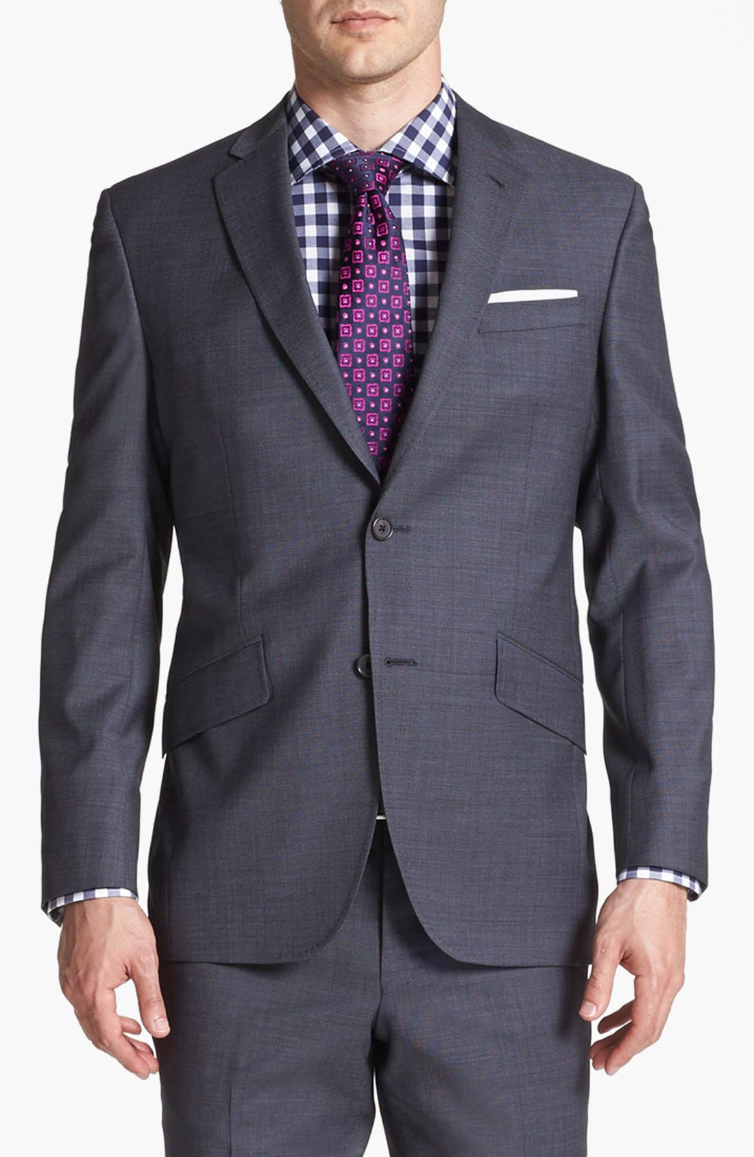Alternate Image 3  - Ted Baker London Jones Trim Fit Wool Suit