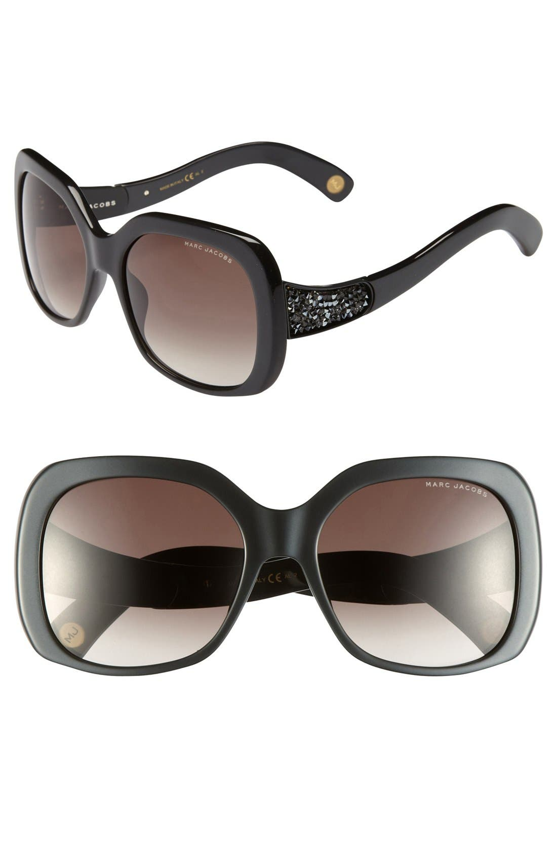 Alternate Image 1 Selected - MARC JACOBS 57mm Sunglasses