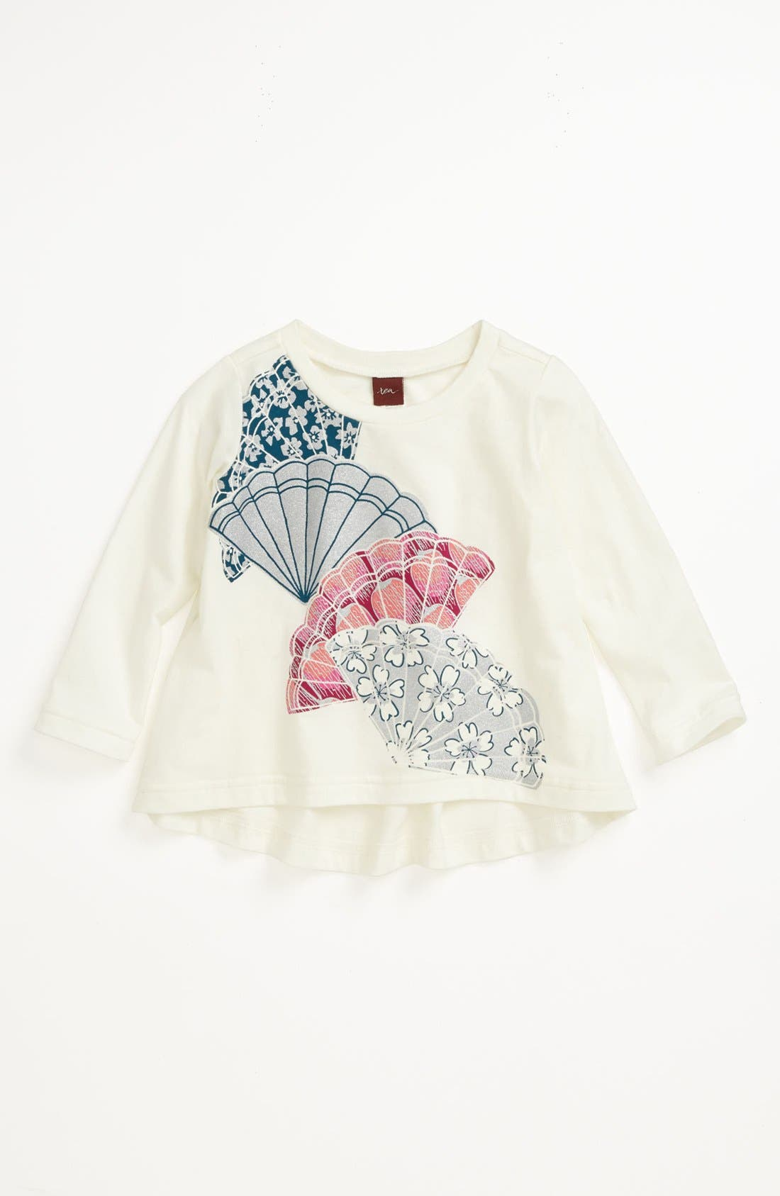 Main Image - Tea Collection 'Fans' Top (Toddler Girls, Little Girls & Big Girls)