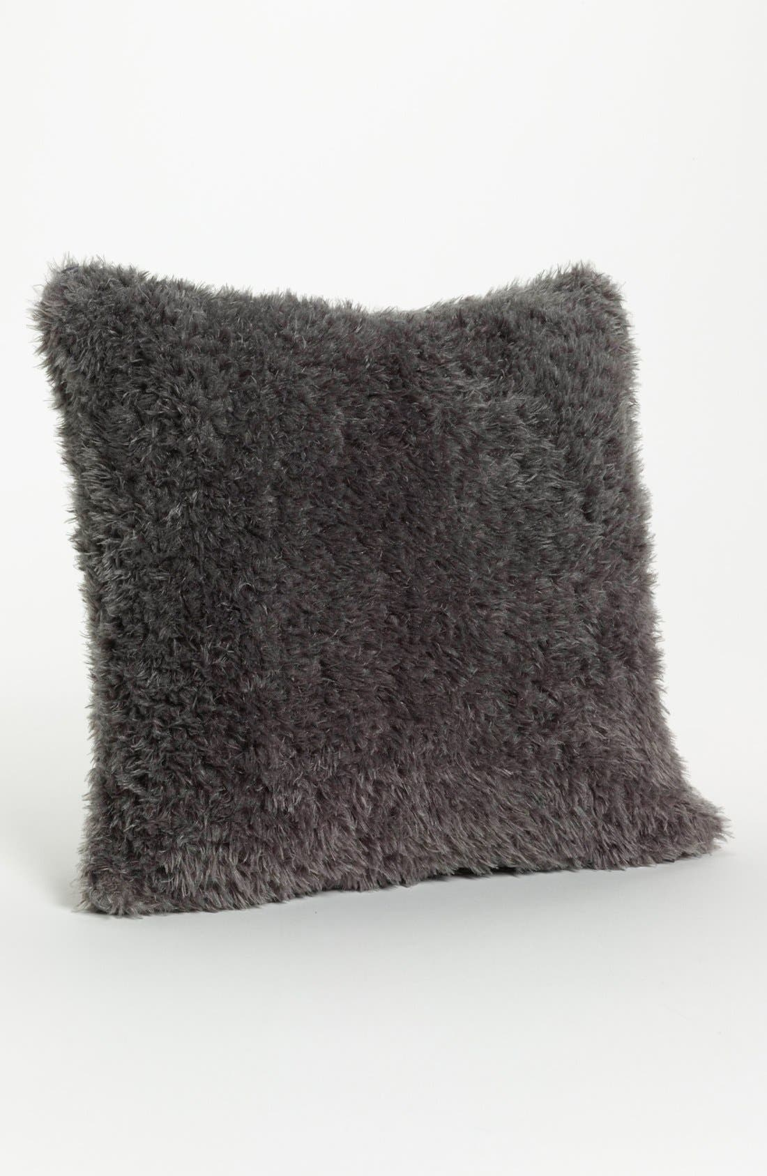 'Bella' Throw Pillow,                         Main,                         color, Charcoal