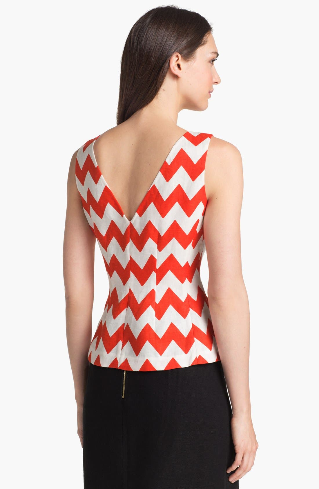 Alternate Image 2  - kate spade new york 'tatiana' stripe top