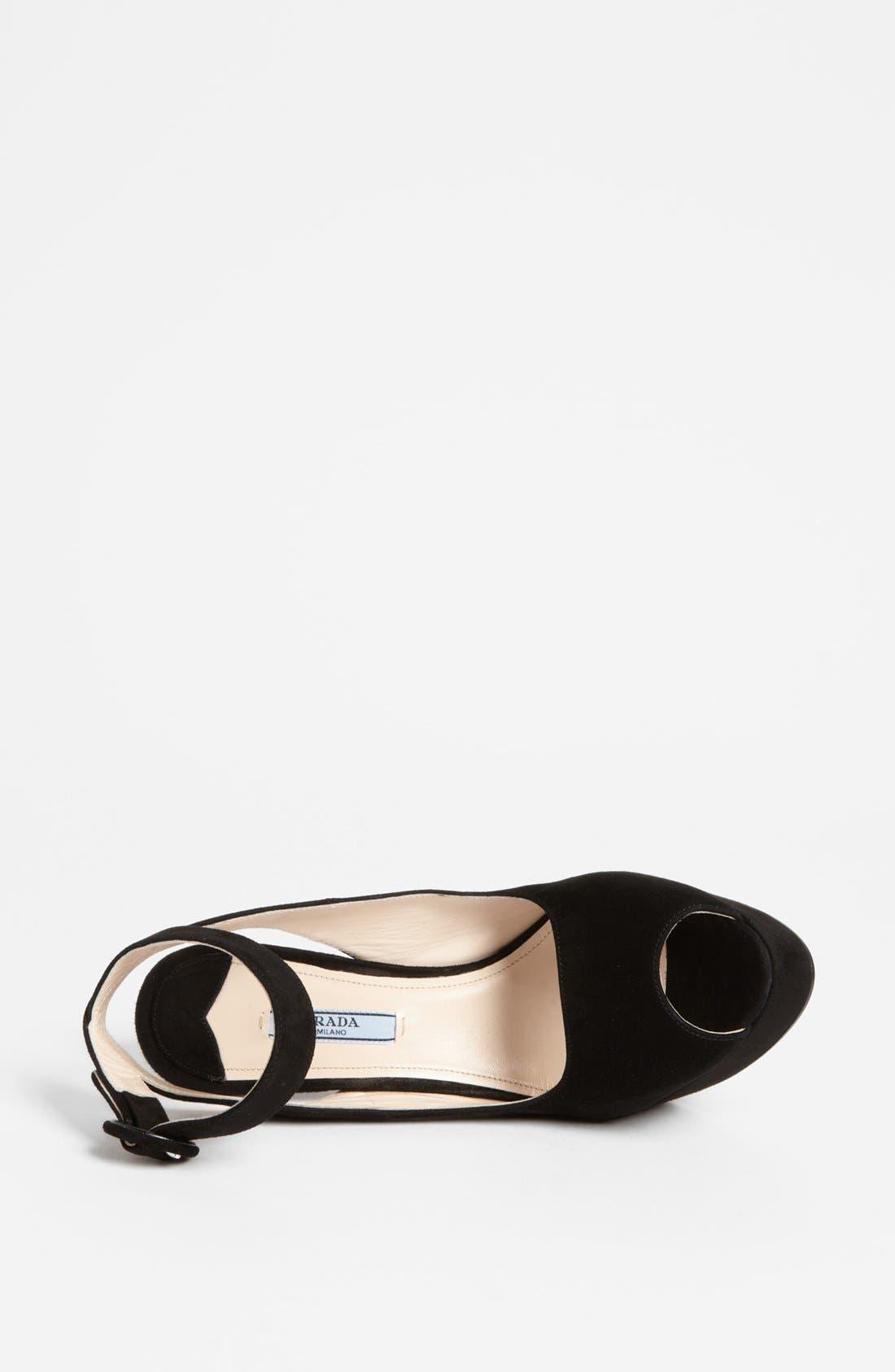 Alternate Image 3  - Prada Ankle Strap Platform Sandal
