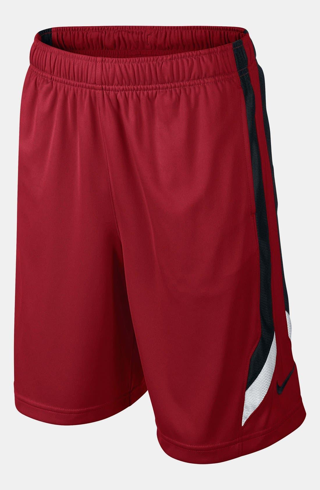 Alternate Image 1 Selected - Nike 'Super Fast' Dri-FIT Basketball Shorts (Big Boys)