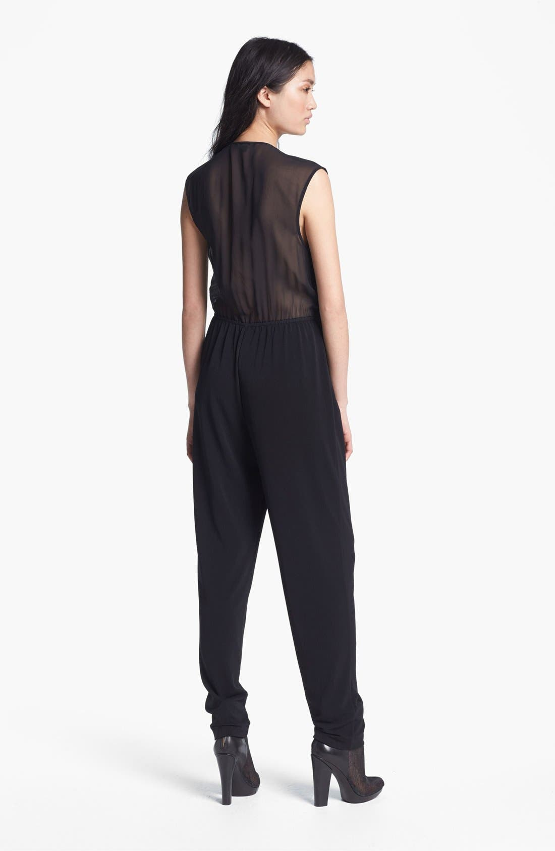 Alternate Image 2  - Rachel Zoe 'Claudia' Pleated Jumpsuit