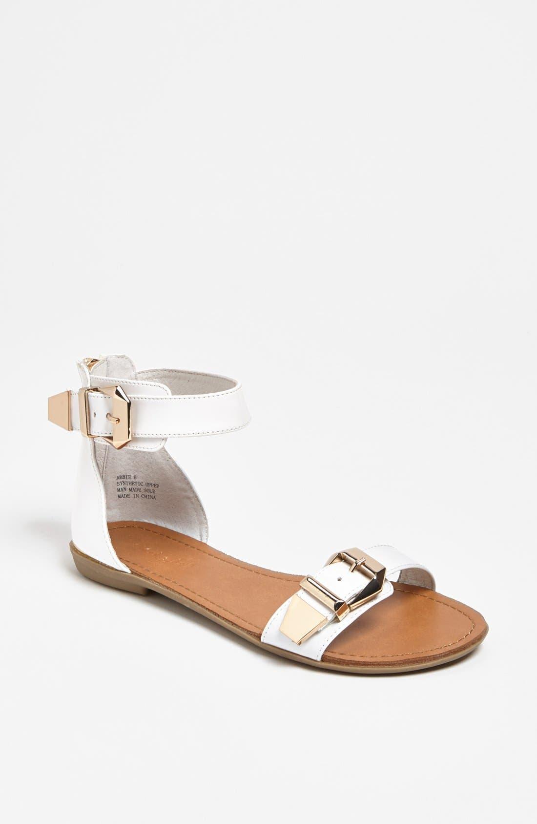Alternate Image 1 Selected - ZiGi girl 'Abbie' Sandal