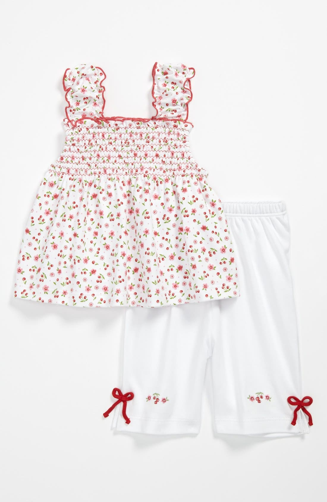 Alternate Image 1 Selected - Kissy Kissy Tank Top & Pants (Baby Girls)