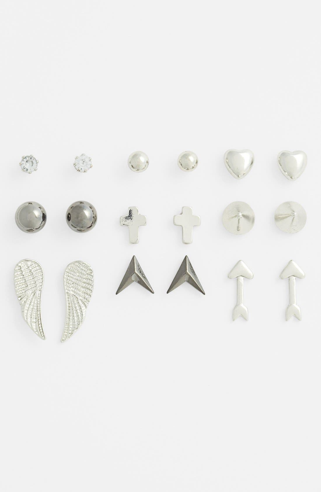 Alternate Image 1 Selected - Orion Assorted Earrings (Set of 9)