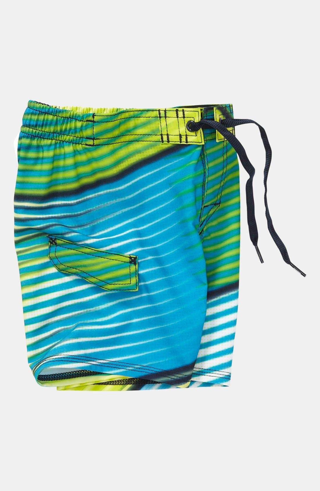 Alternate Image 3  - Quiksilver 'Gamma' Board Shorts (Toddler Boys)
