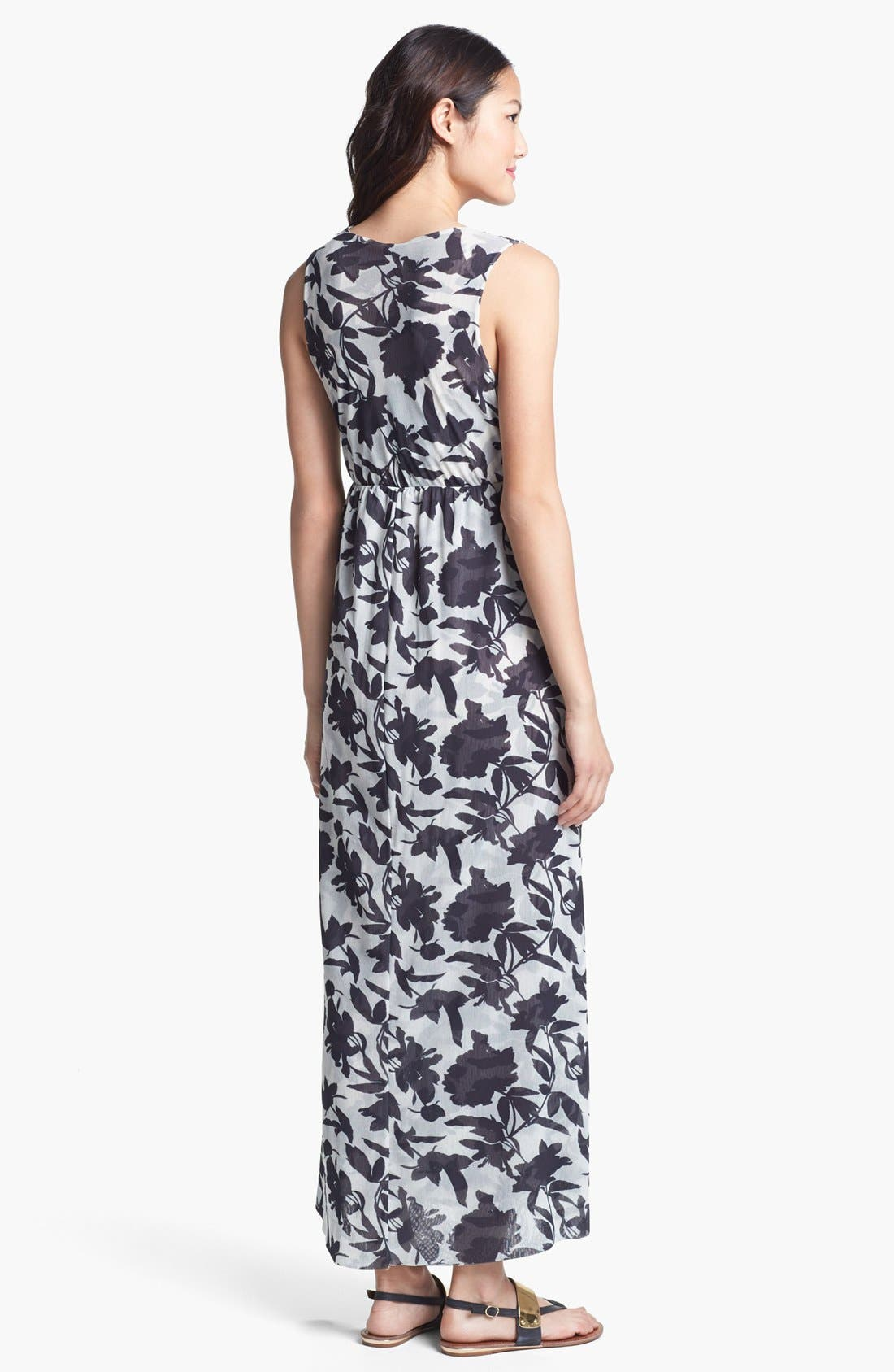 Alternate Image 2  - Sweet Pea by Stacy Frati Print Maxi Dress