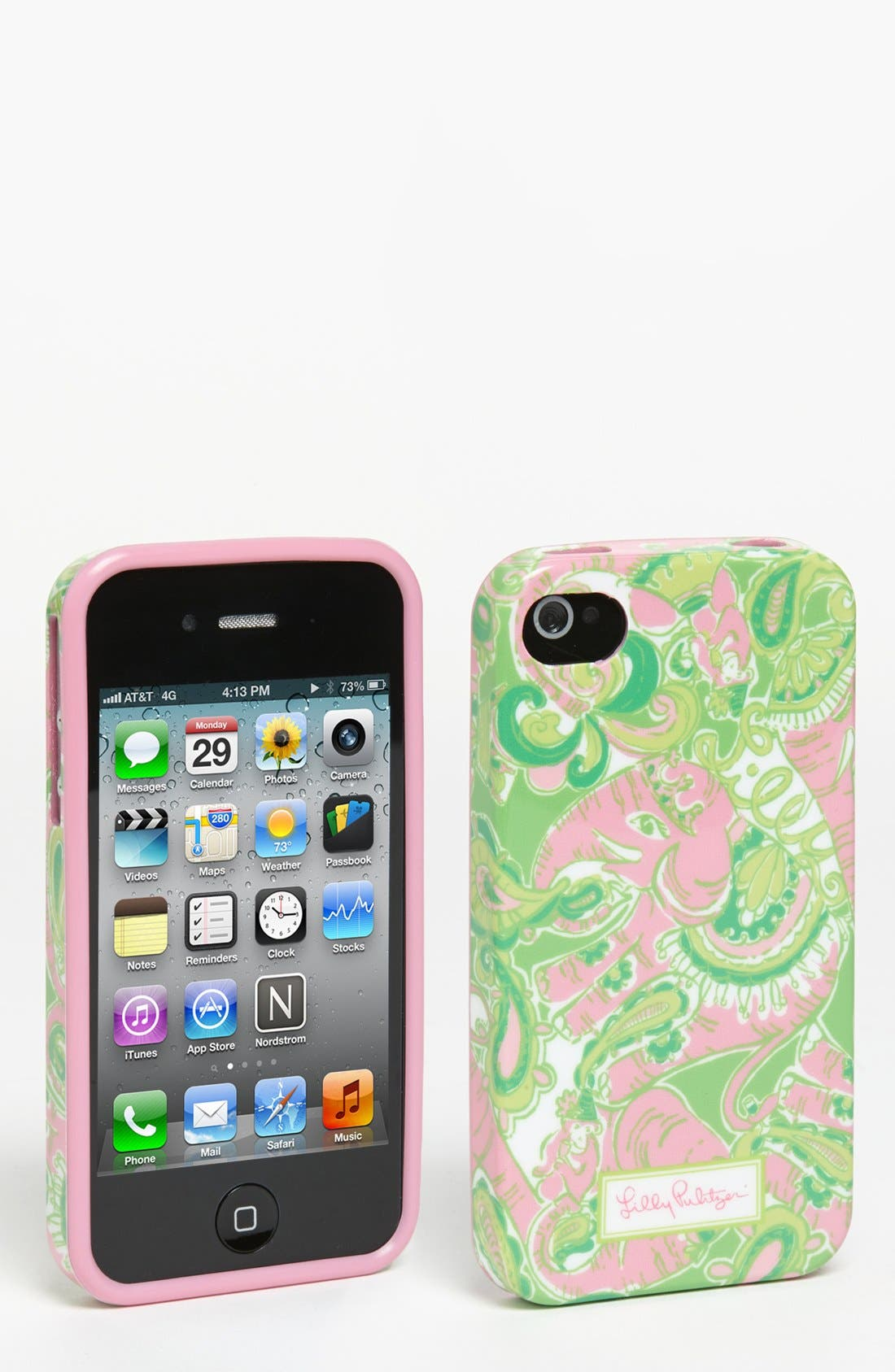 Main Image - Lilly Pulitzer® 'Chin Chin' iPhone 4 & 4S Case
