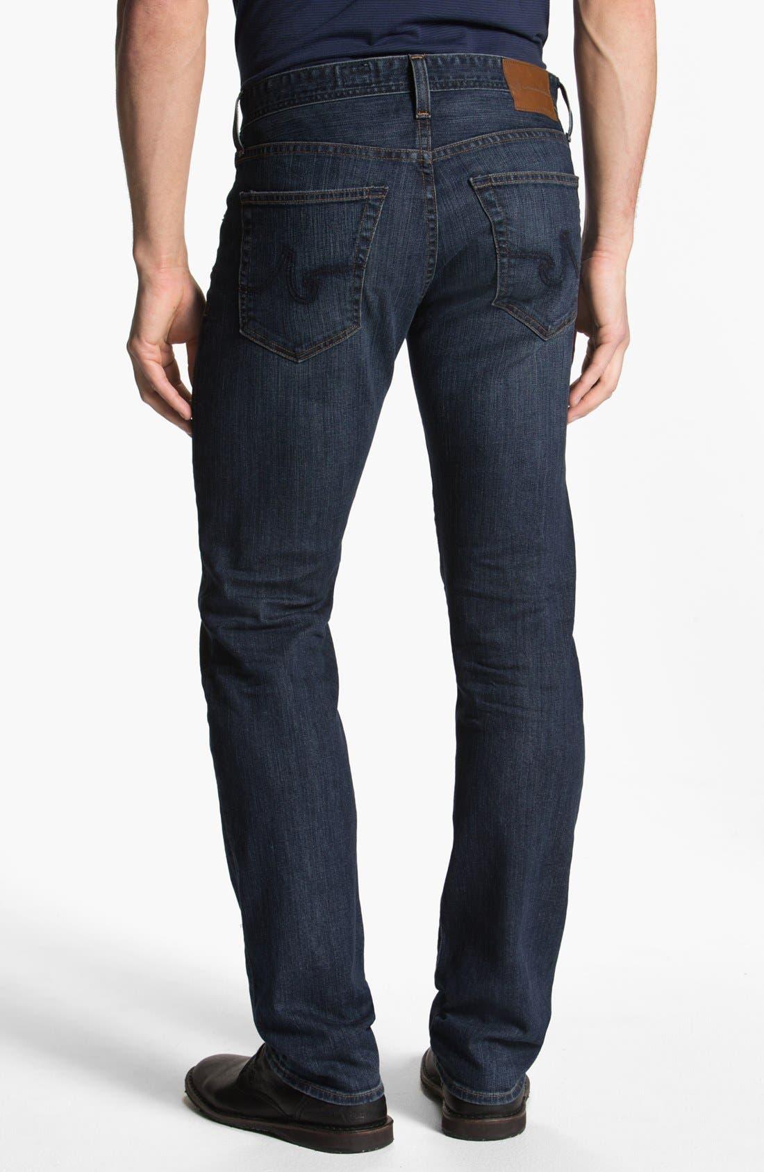 Alternate Image 2  - AG 'Matchbox' Slim Fit Jeans (8 Year)