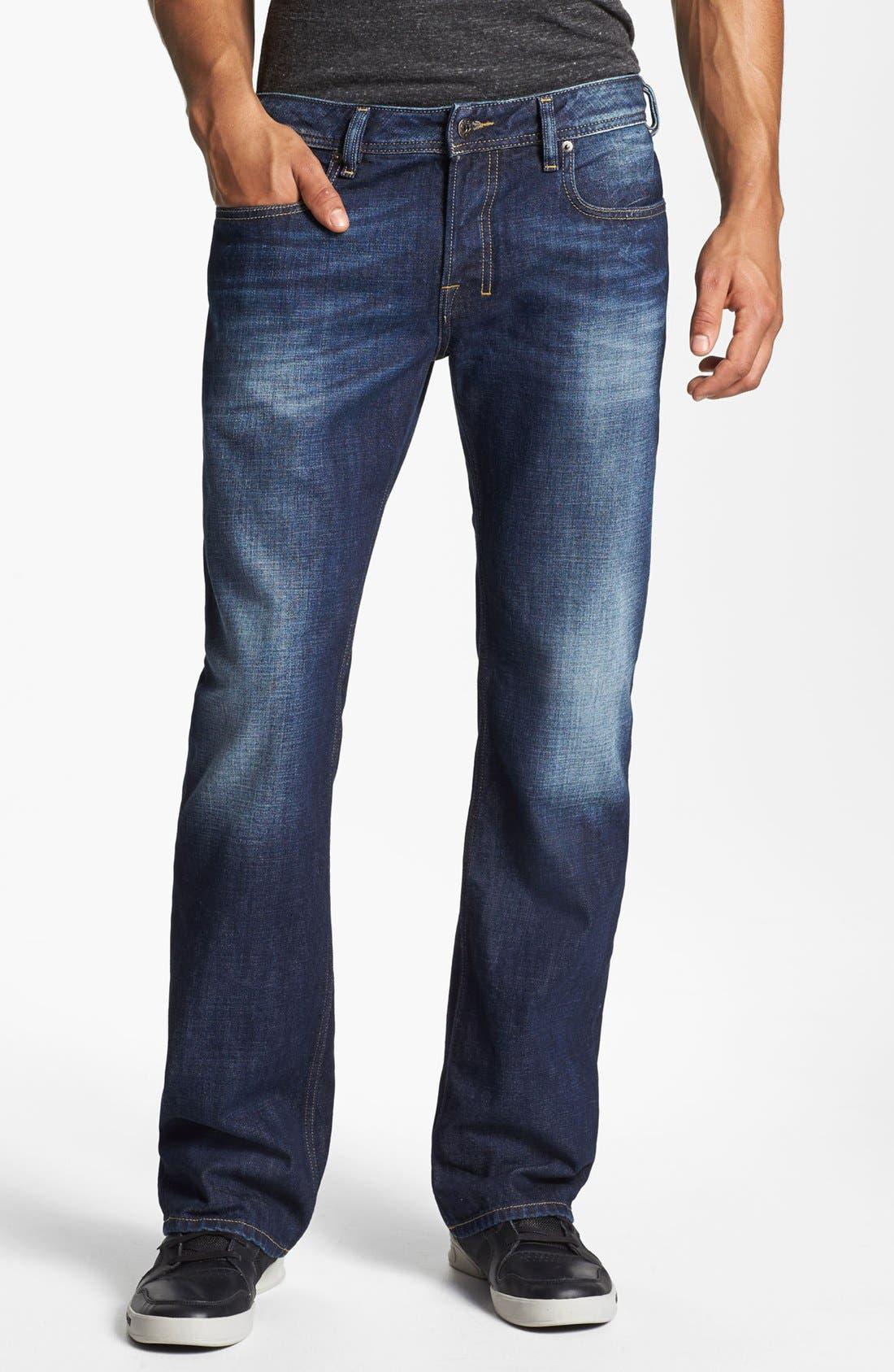 Alternate Image 2  - DIESEL® 'Zatiny' Bootcut Jeans (074W)