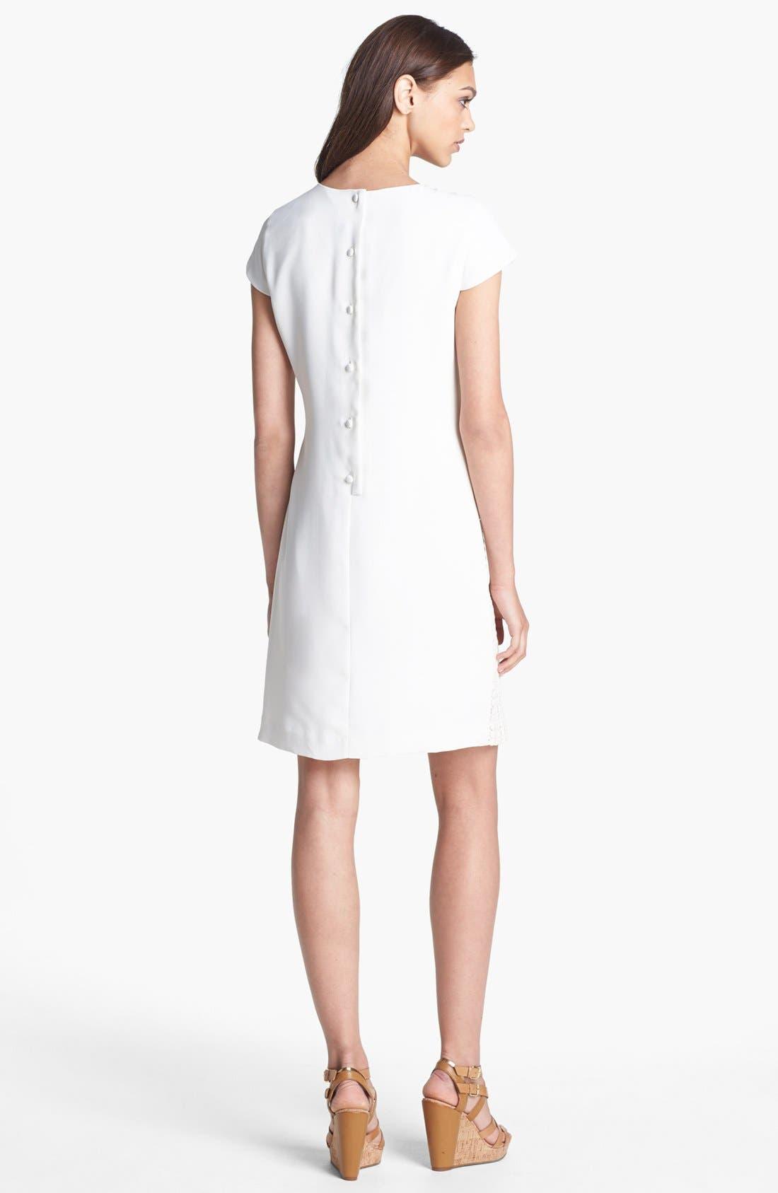 Alternate Image 2  - Calvin Klein Cotton Shift Dress