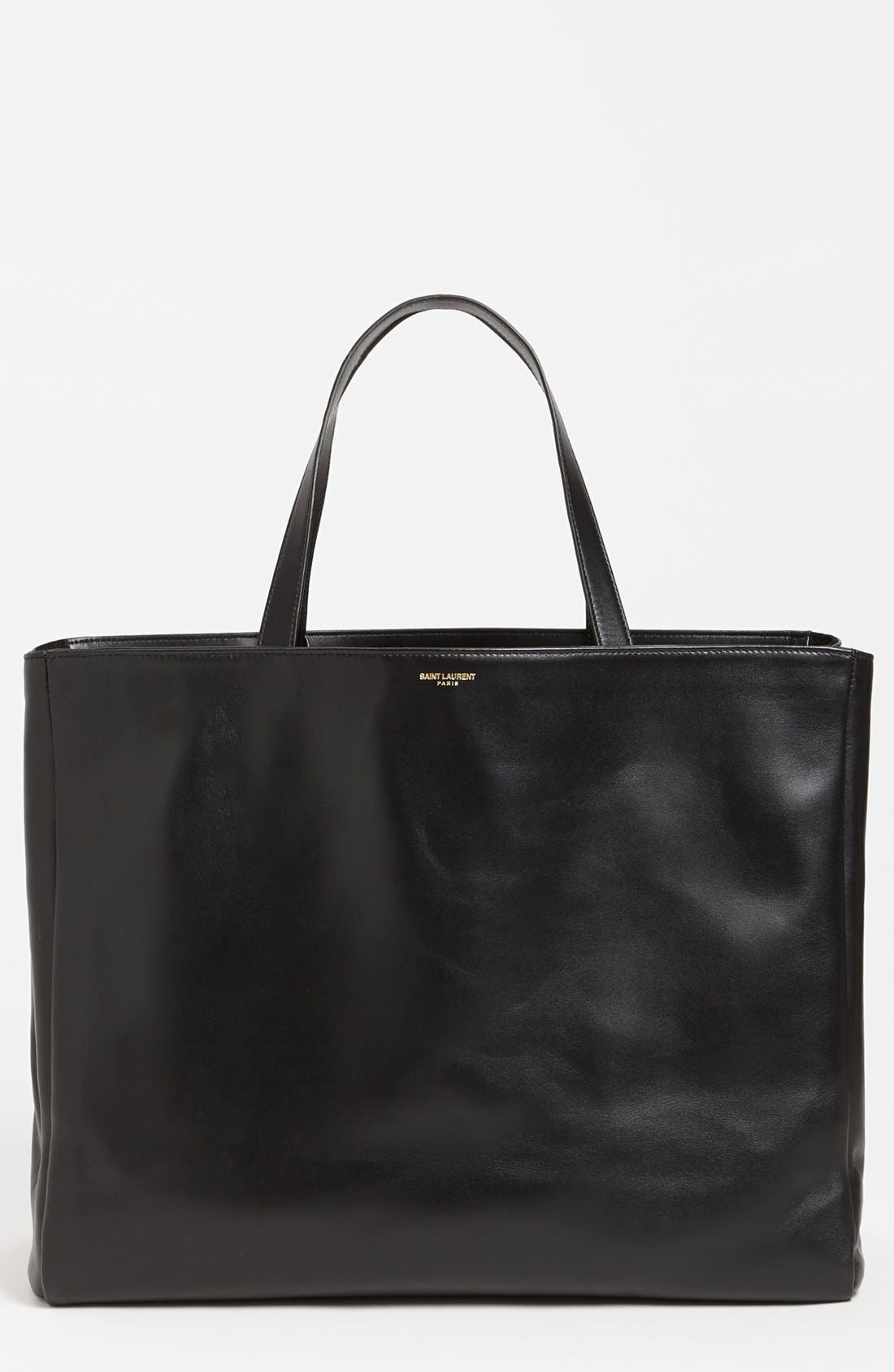 Alternate Image 1 Selected - Saint Laurent Leather Tote, Large