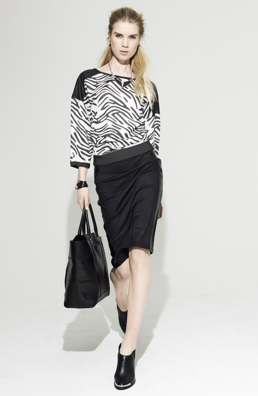 Alternate Image 5  - Trouvé Pencil Skirt
