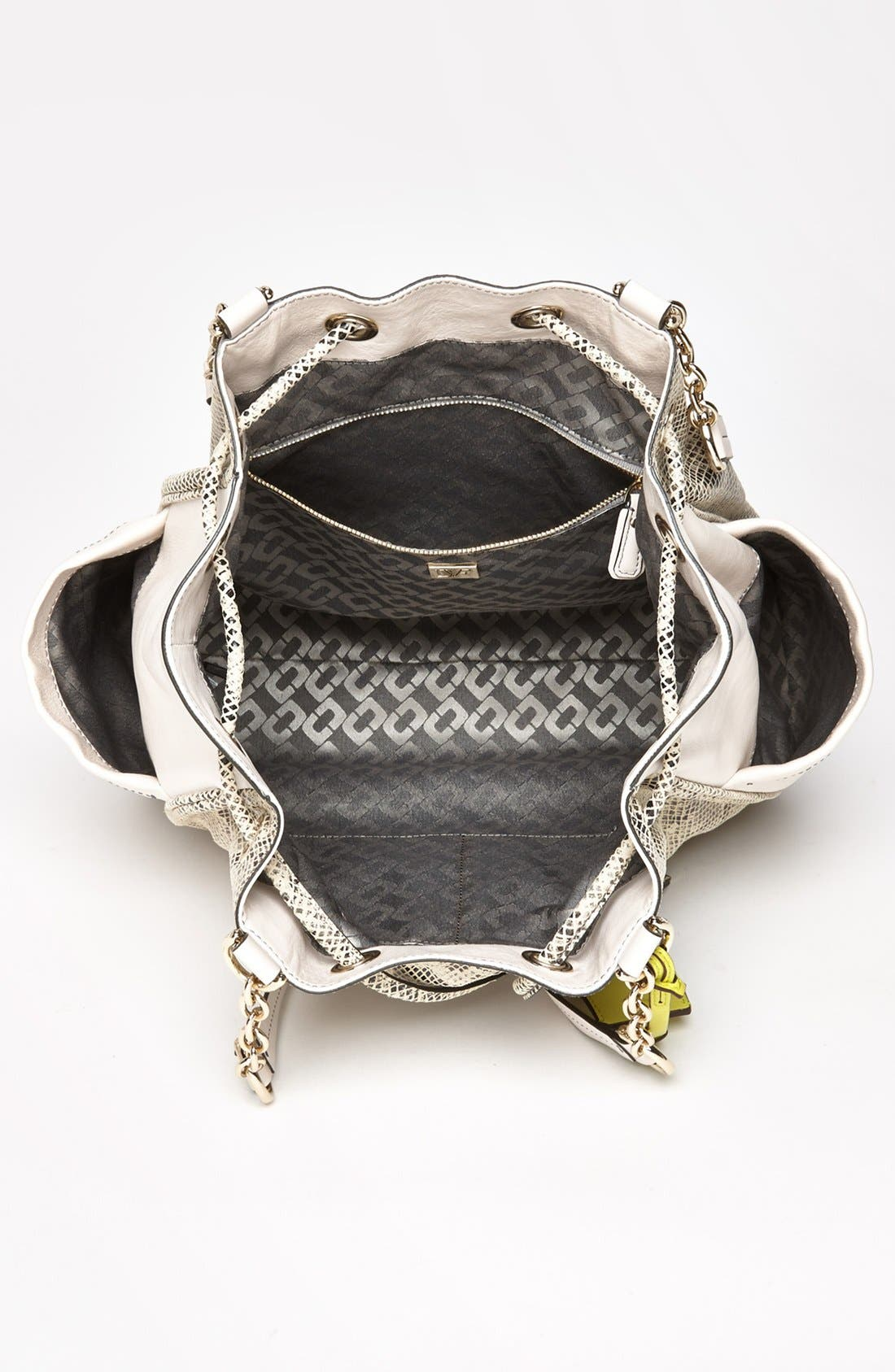 Alternate Image 3  - Diane von Furstenberg 'Sydney' Python Embossed Leather Tote