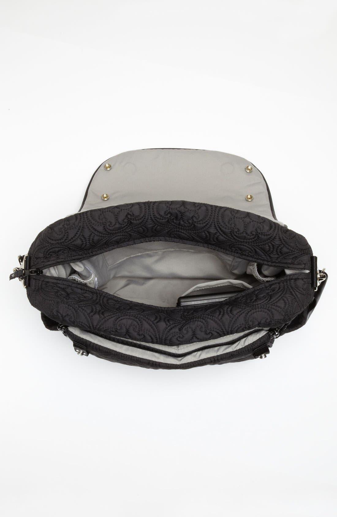 Alternate Image 3  - Petunia Pickle Bottom 'Embossed Boxy' Backpack Diaper Bag