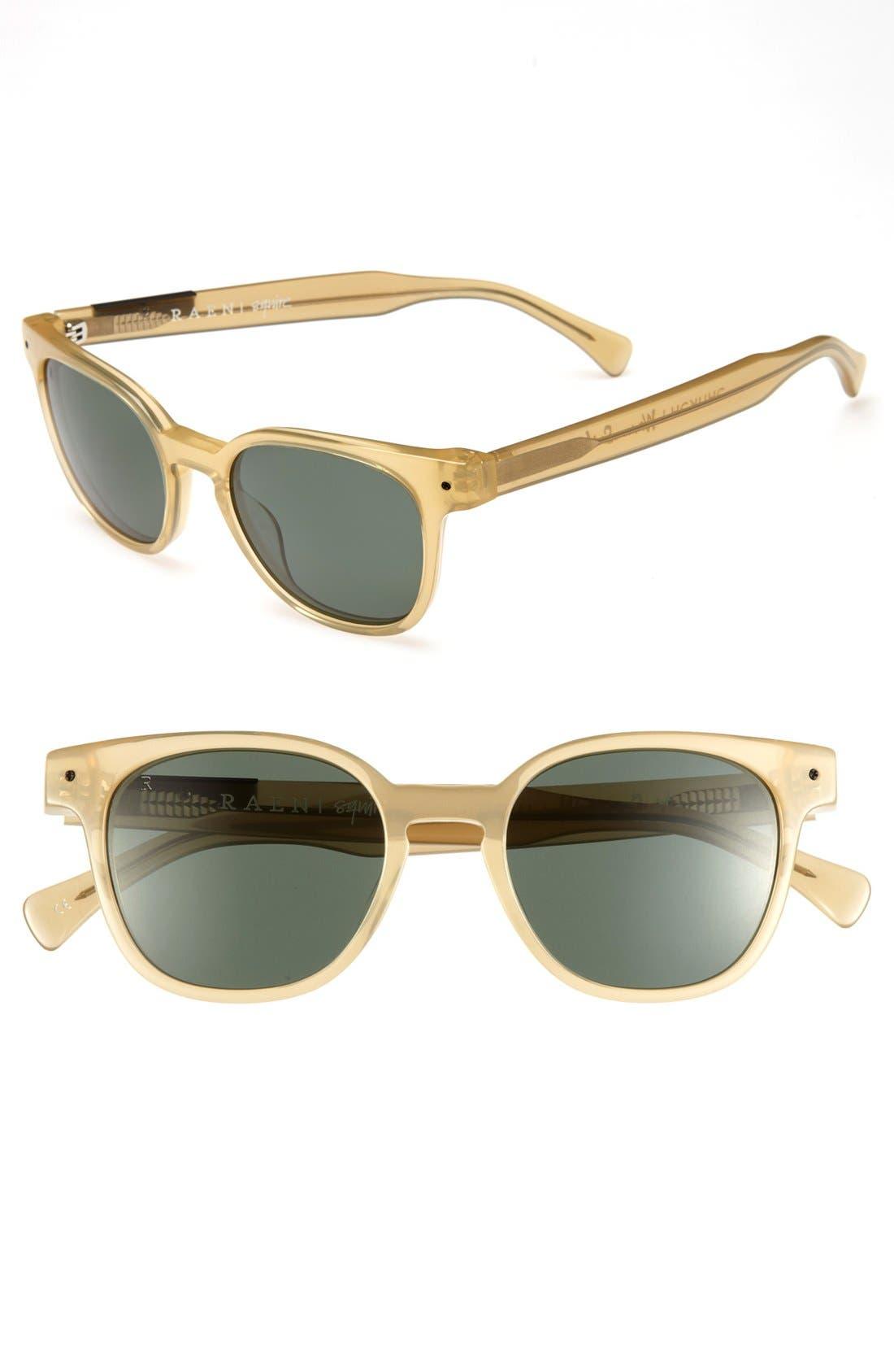 Main Image - RAEN 'Squire' 48mm Polarized Sunglasses