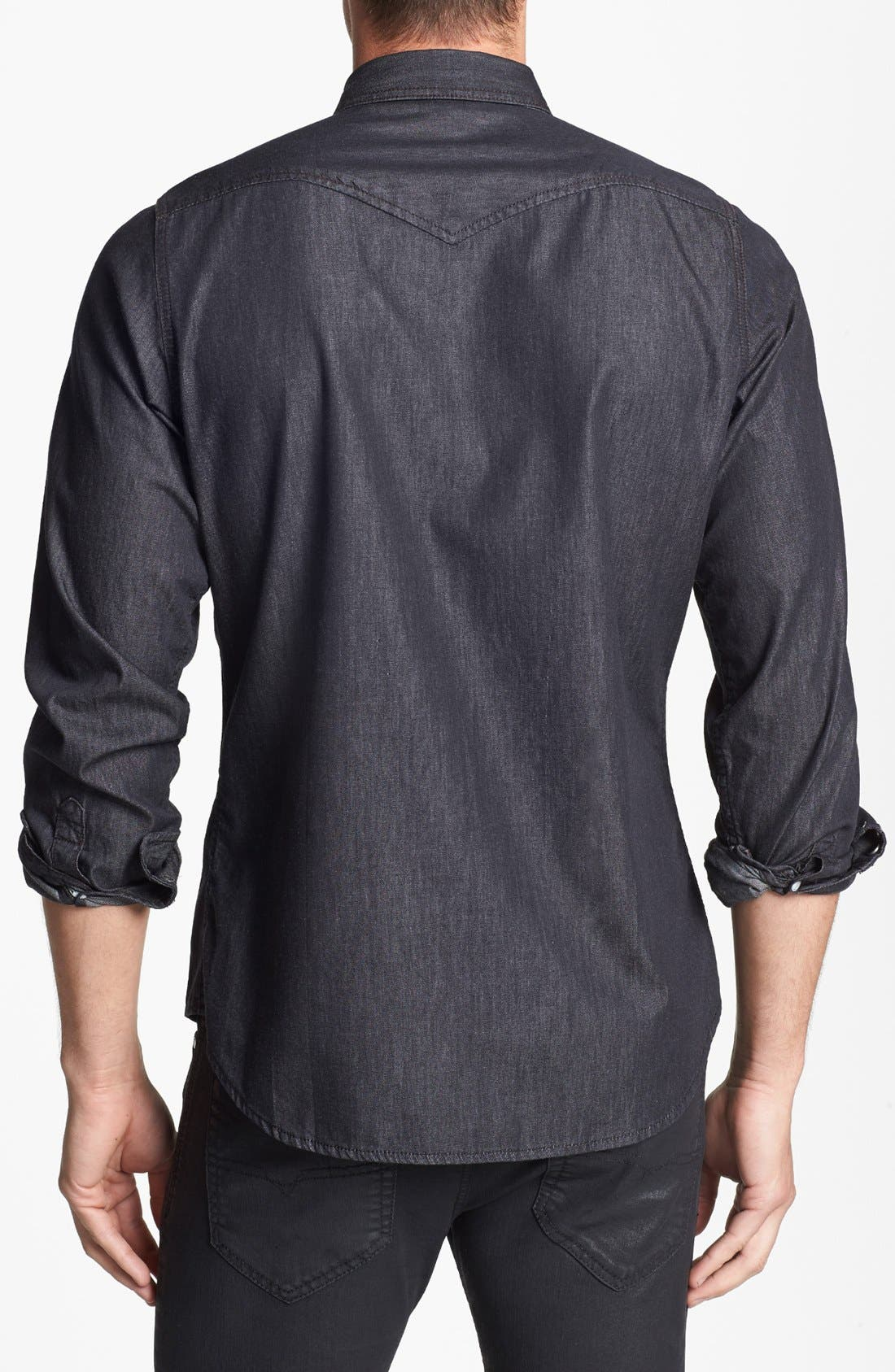 Alternate Image 2  - DIESEL® 'Sonora' Chambray Shirt