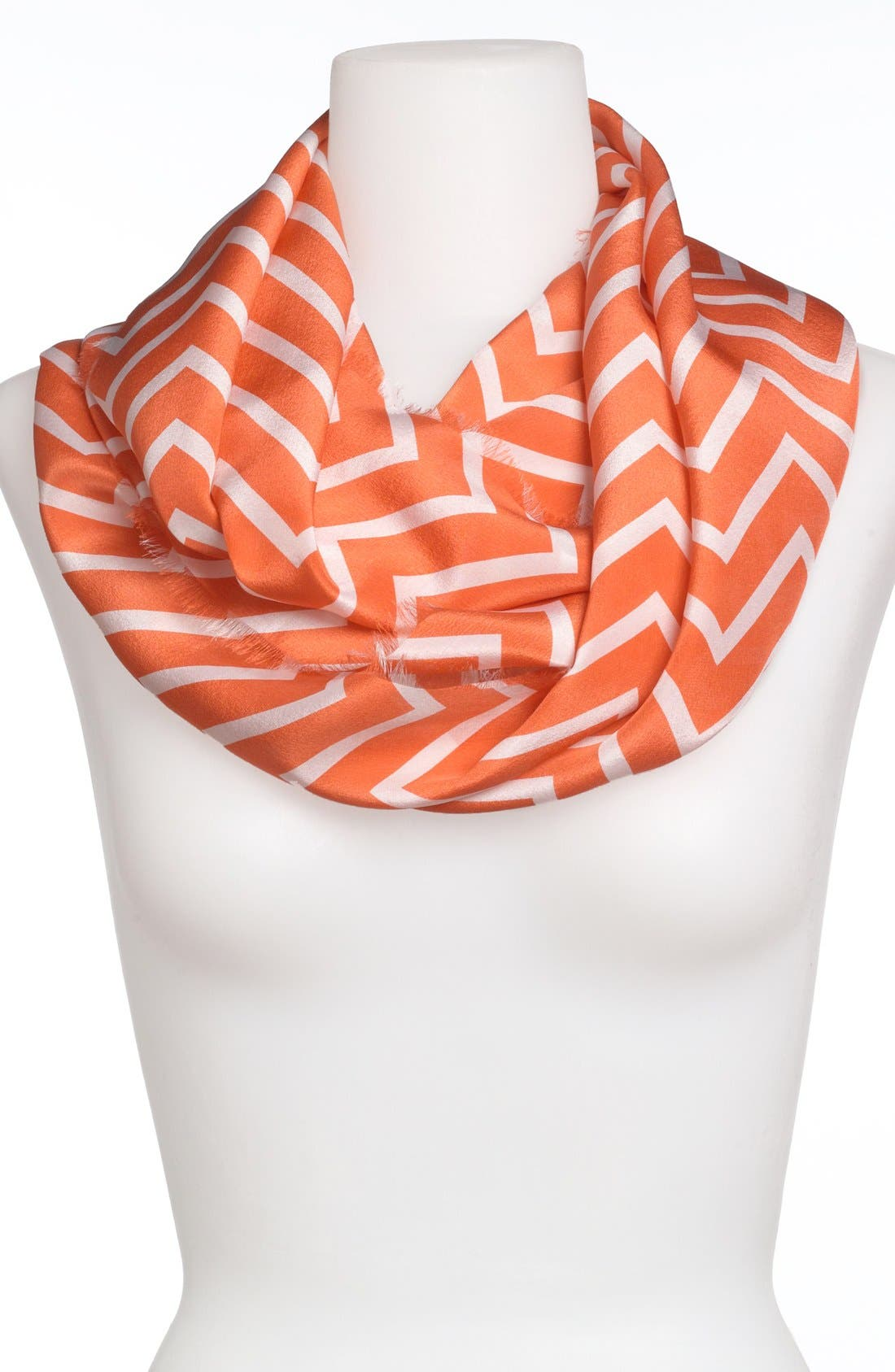 Alternate Image 1 Selected - Lauren Ralph Lauren Silk Infinity Scarf