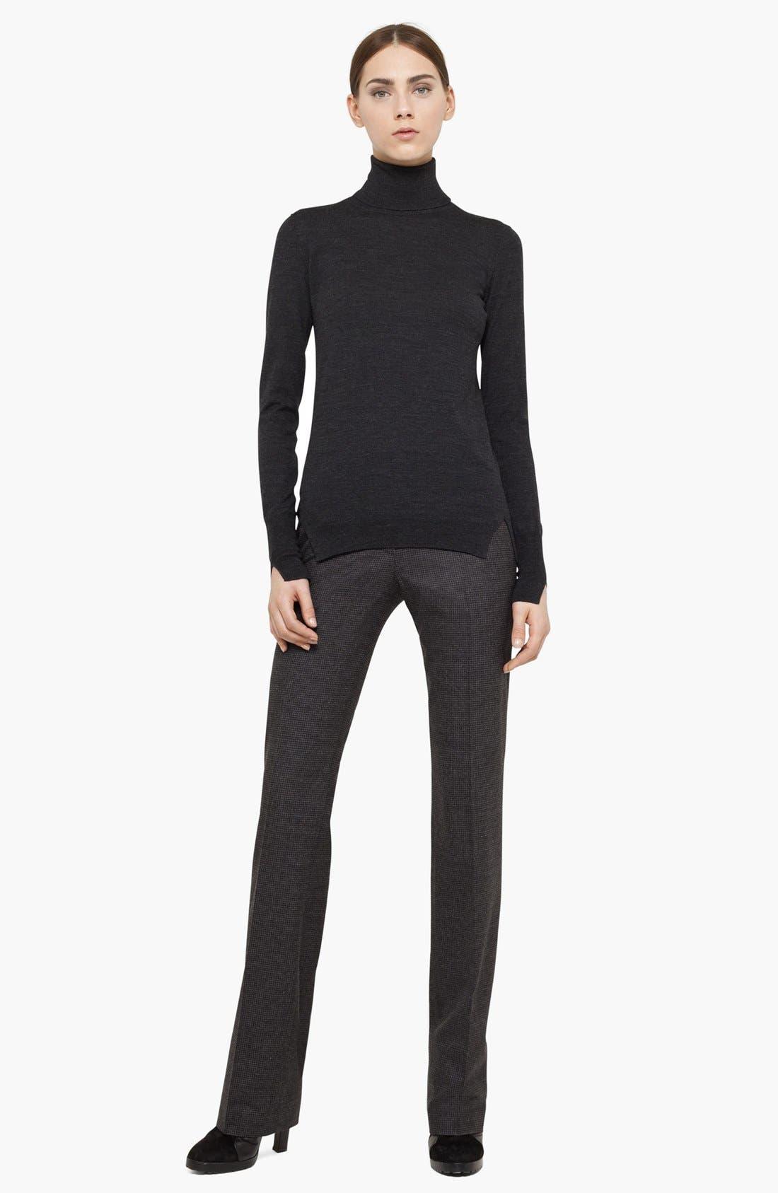 Alternate Image 2  - Akris punto Stretch Wool Pants