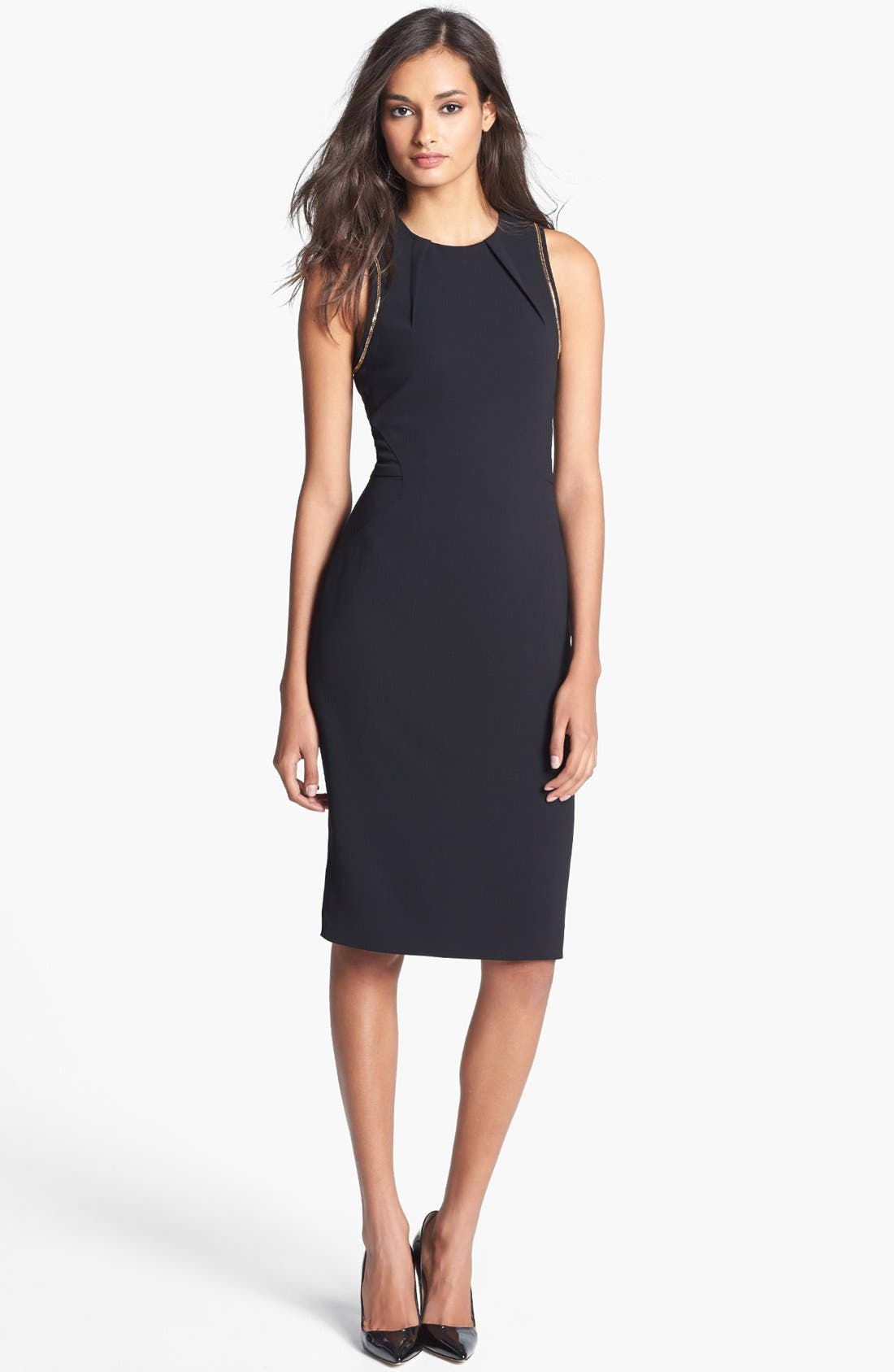 Alternate Image 1 Selected - Rachel Roy Sleeveless Crepe Dress