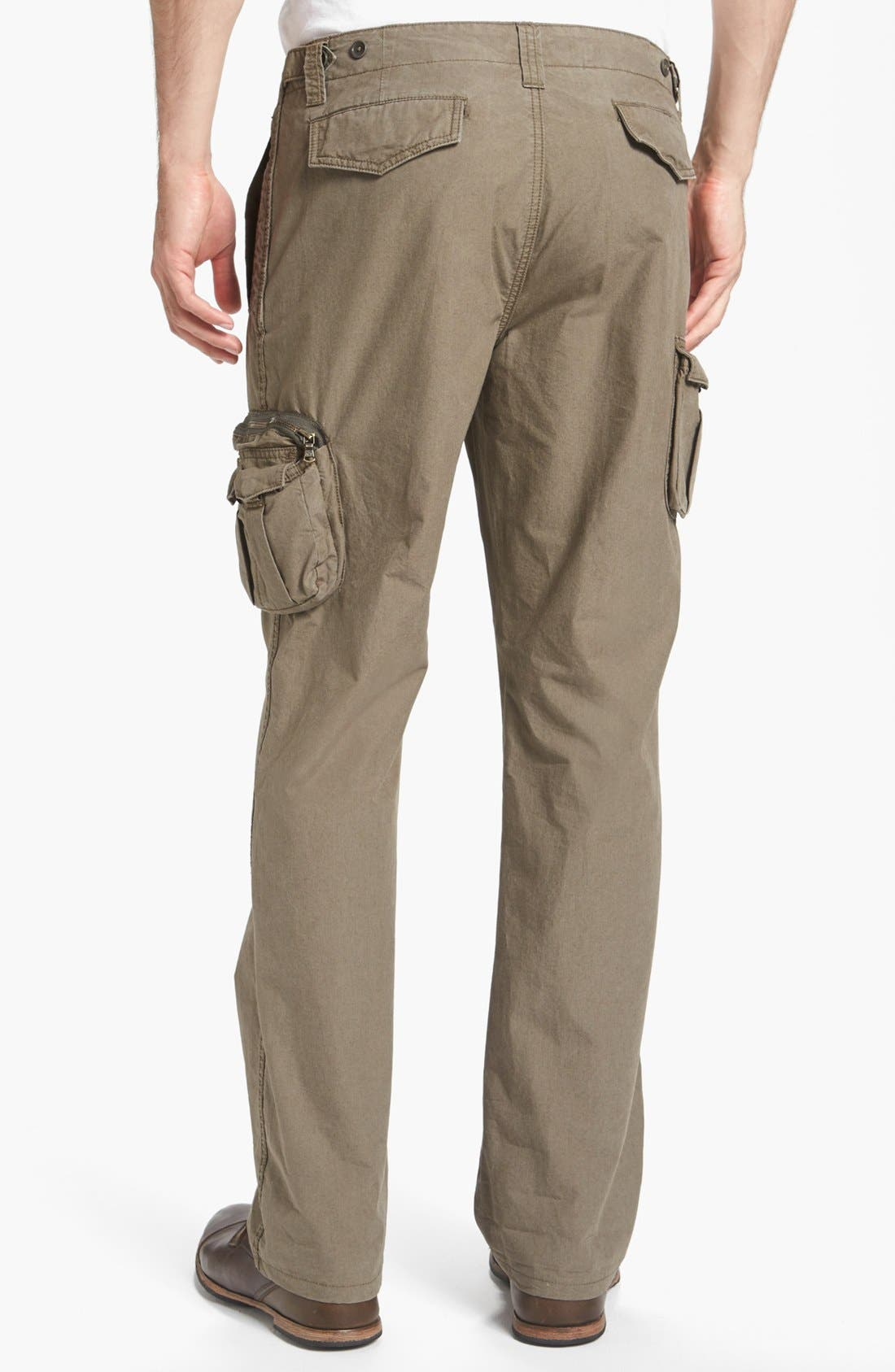 Alternate Image 2  - John Varvatos Star USA 'Explorer' Linen Cargo Pants