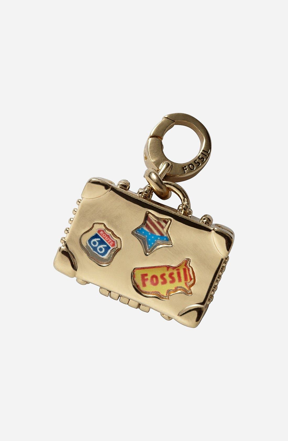 Main Image - Fossil Suitcase Dangle Charm