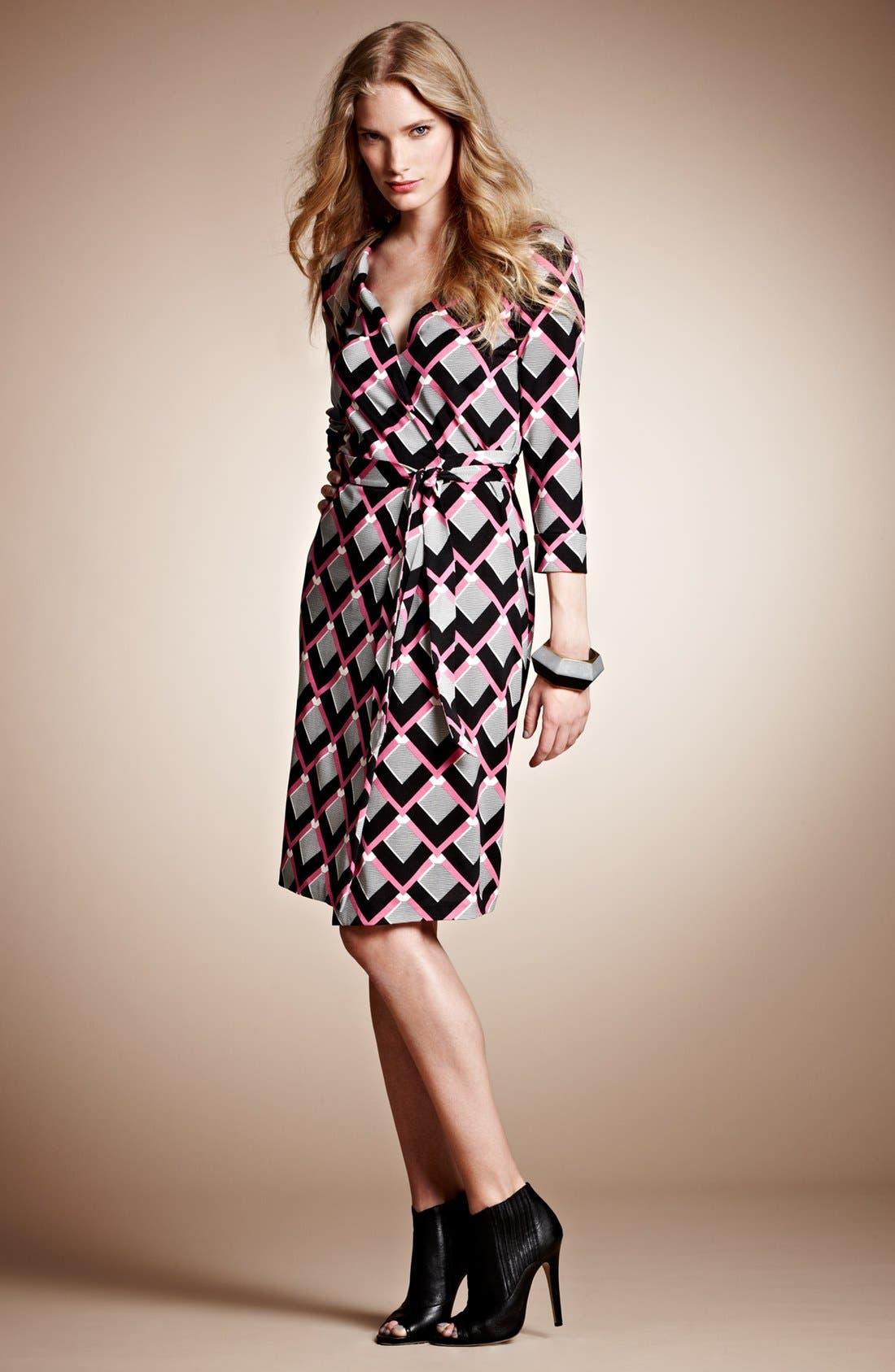 Alternate Image 4  - Diane von Furstenberg 'New Julian 2' Silk Wrap Dress
