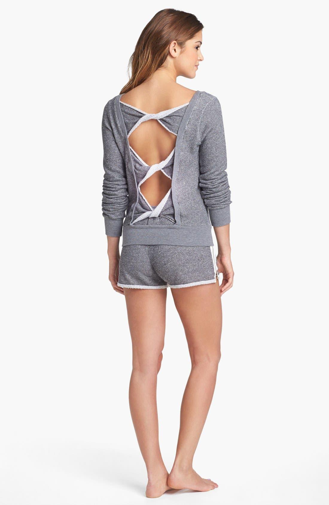 Alternate Image 4  - Solow Back Twist Sweatshirt