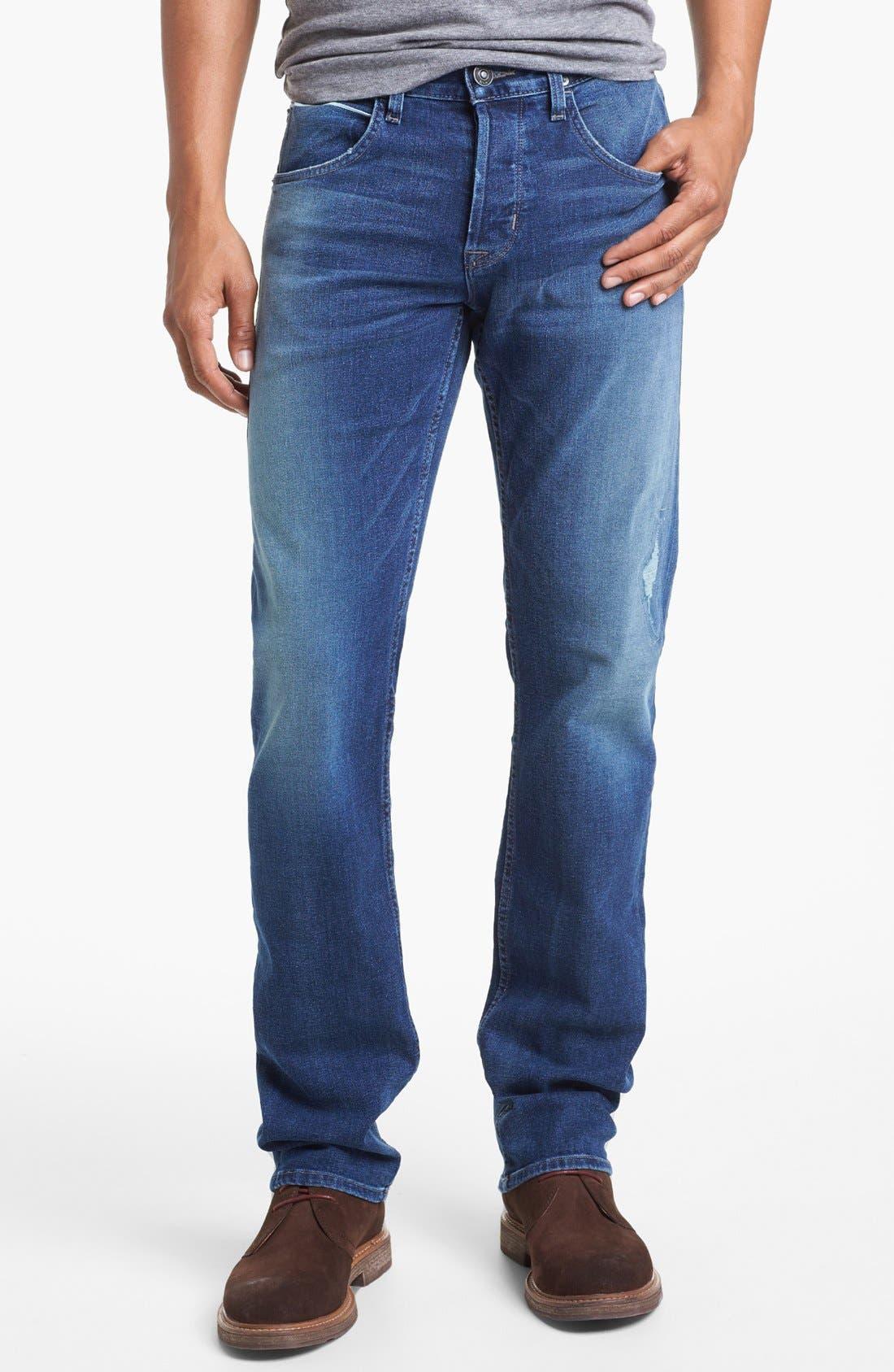 Alternate Image 2  - Hudson Jeans 'Byron' Straight Leg Selvedge Jeans (Belize)