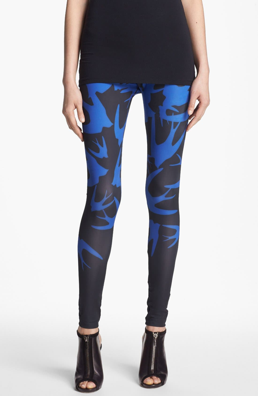 Alternate Image 1 Selected - McQ by Alexander McQueen Print Leggings