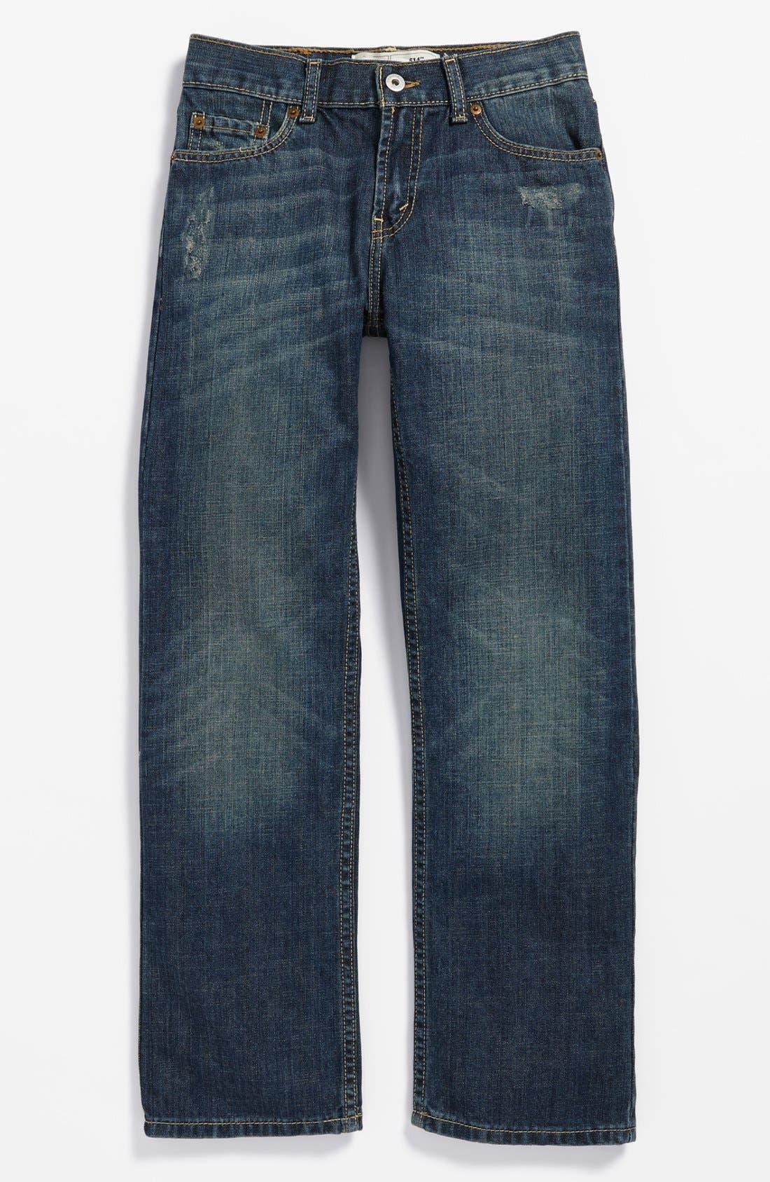 Alternate Image 2  - Levi's® '514™' Straight Leg Jeans (Big Boys)