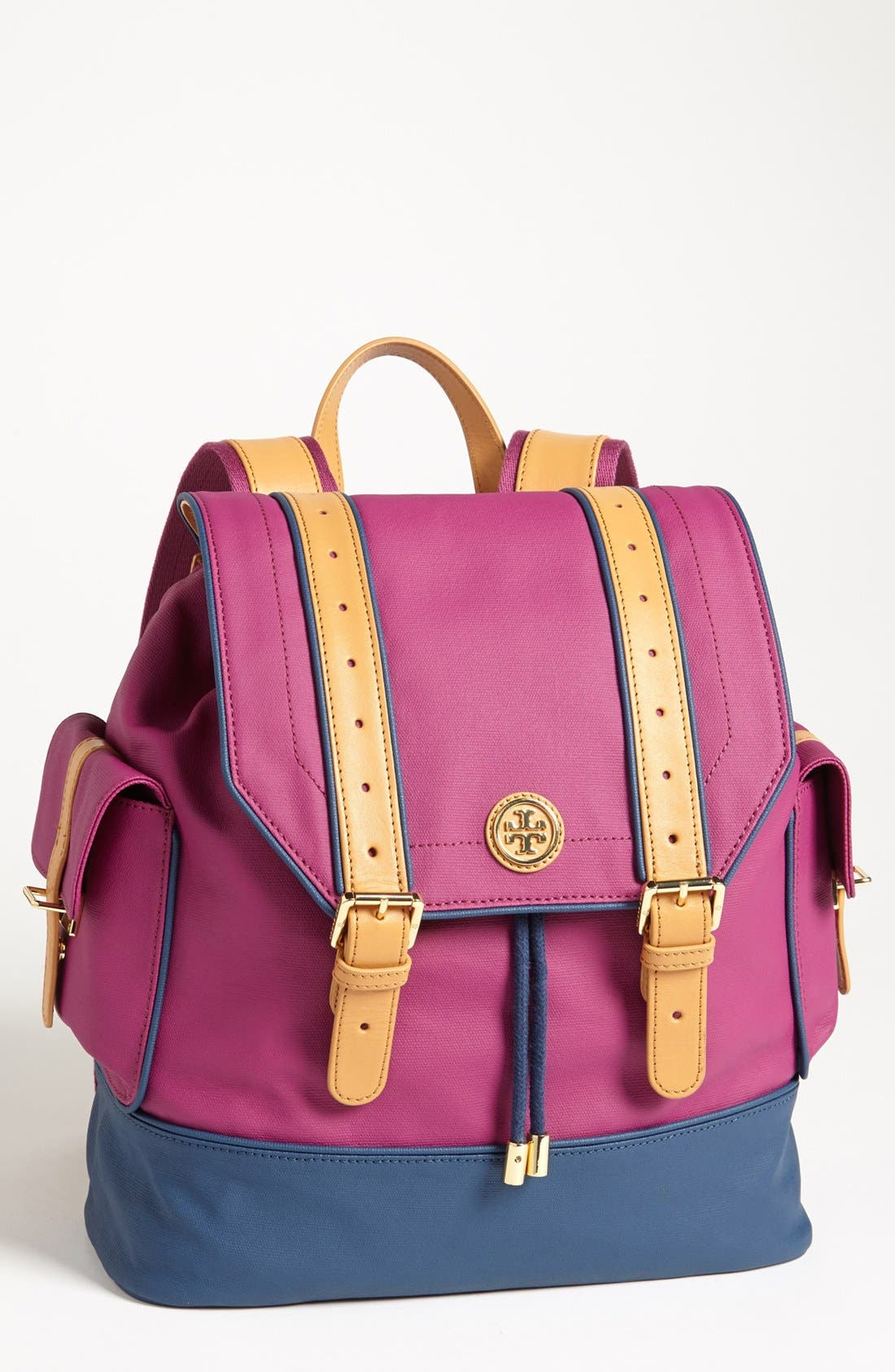 Main Image - Tory Burch Dipped Canvas Backpack