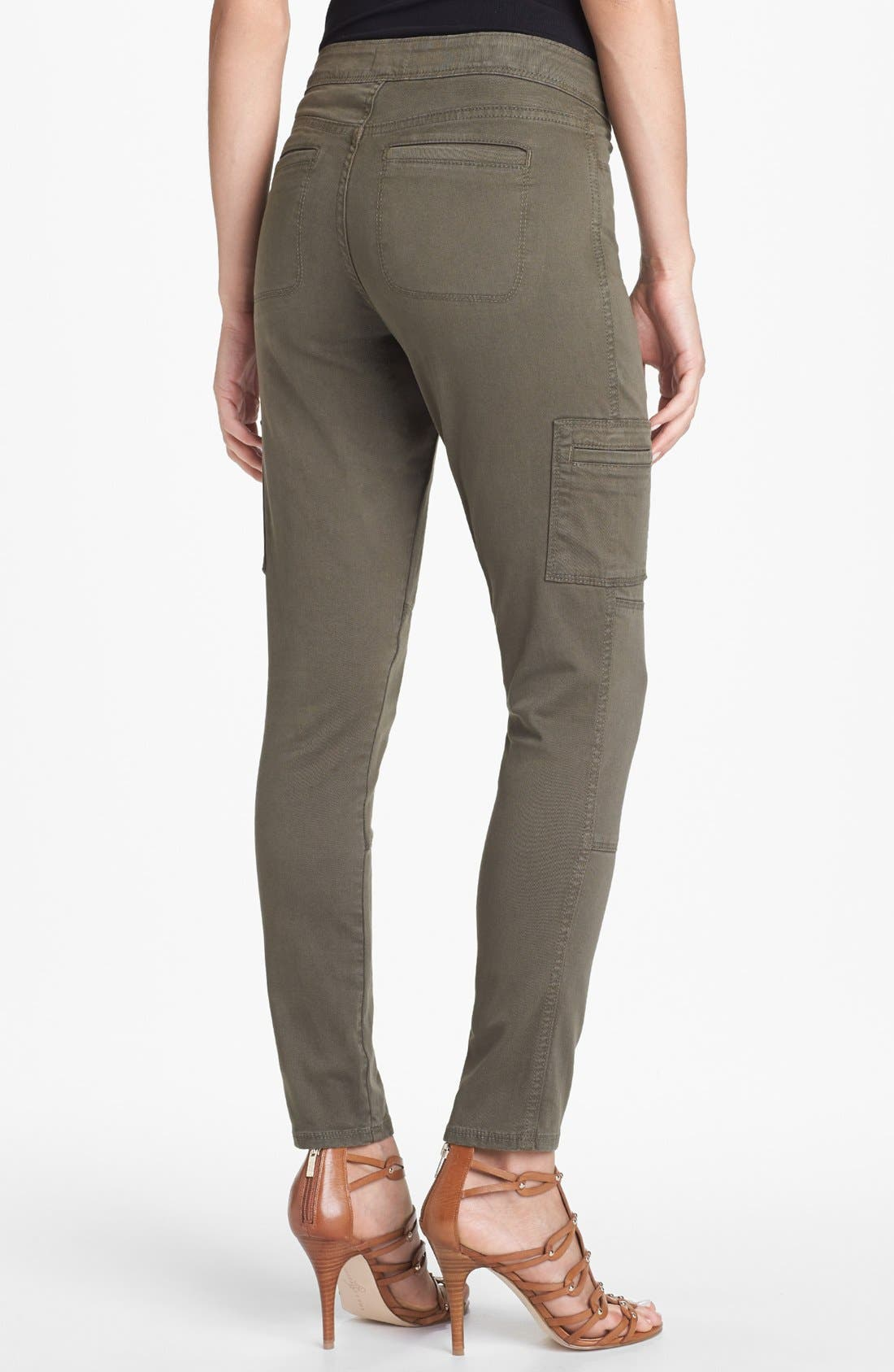 Alternate Image 2  - NYDJ 'Celia' Skinny Cargo Pants (Petite)