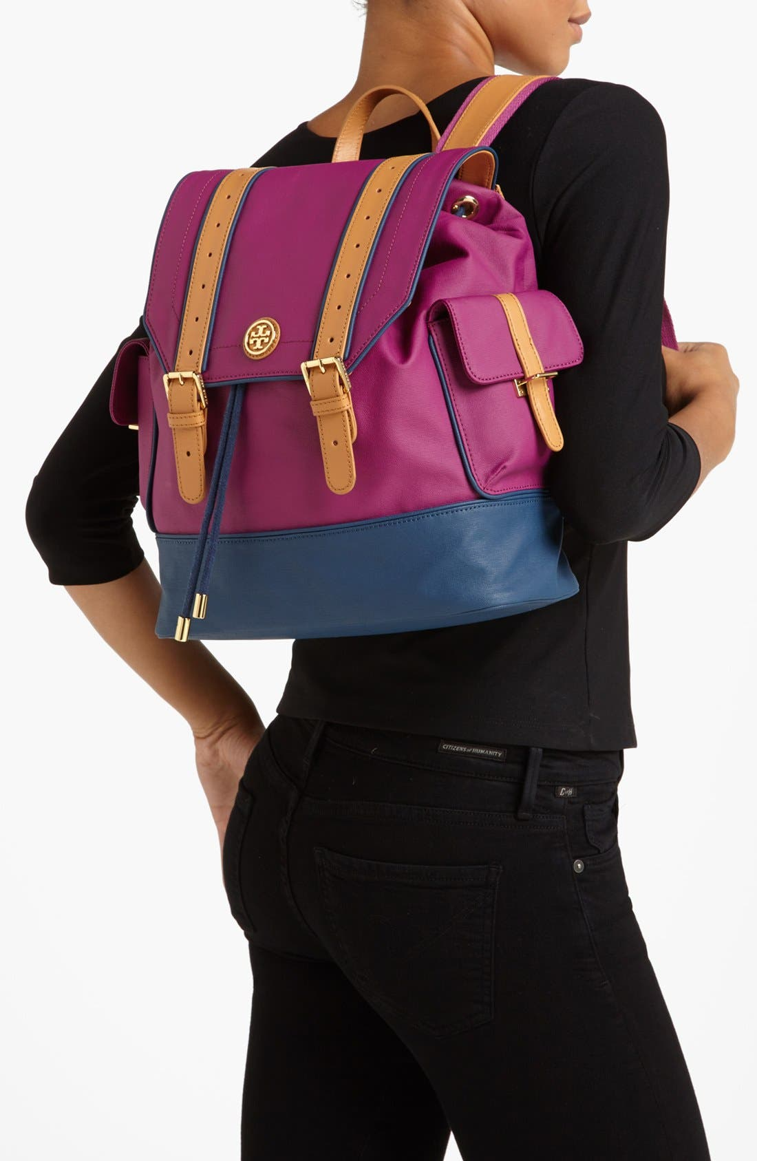 Alternate Image 2  - Tory Burch Dipped Canvas Backpack