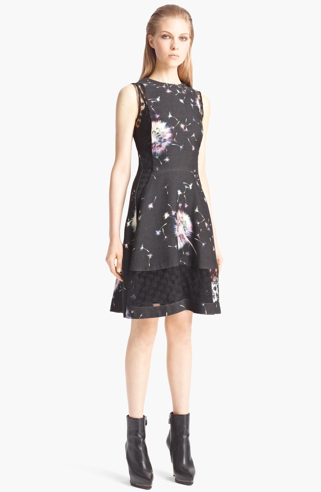 Main Image - Thakoon Floral Wool & Lace Dress