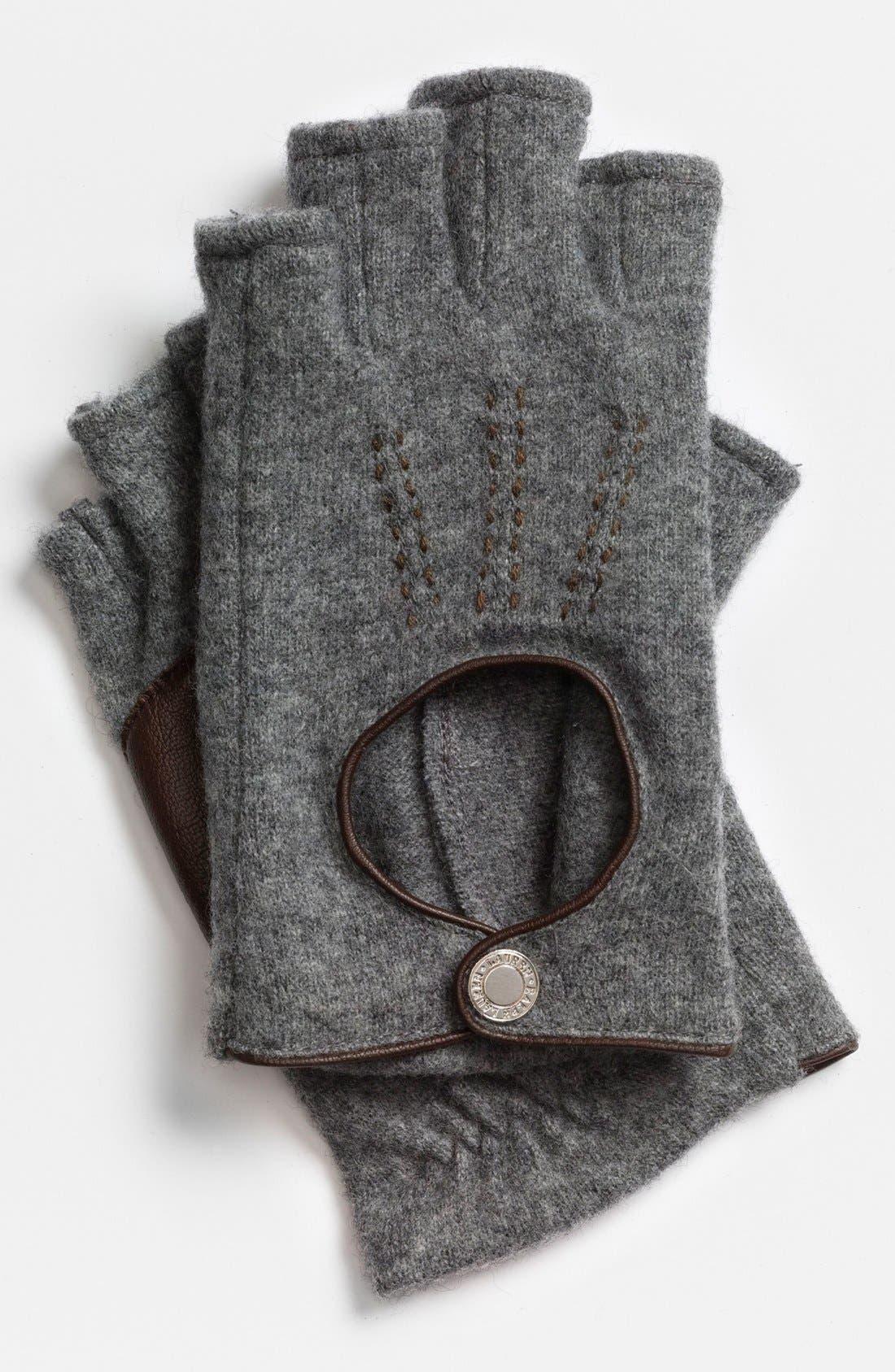 Main Image - Lauren Ralph Lauren Fingerless Driving Gloves
