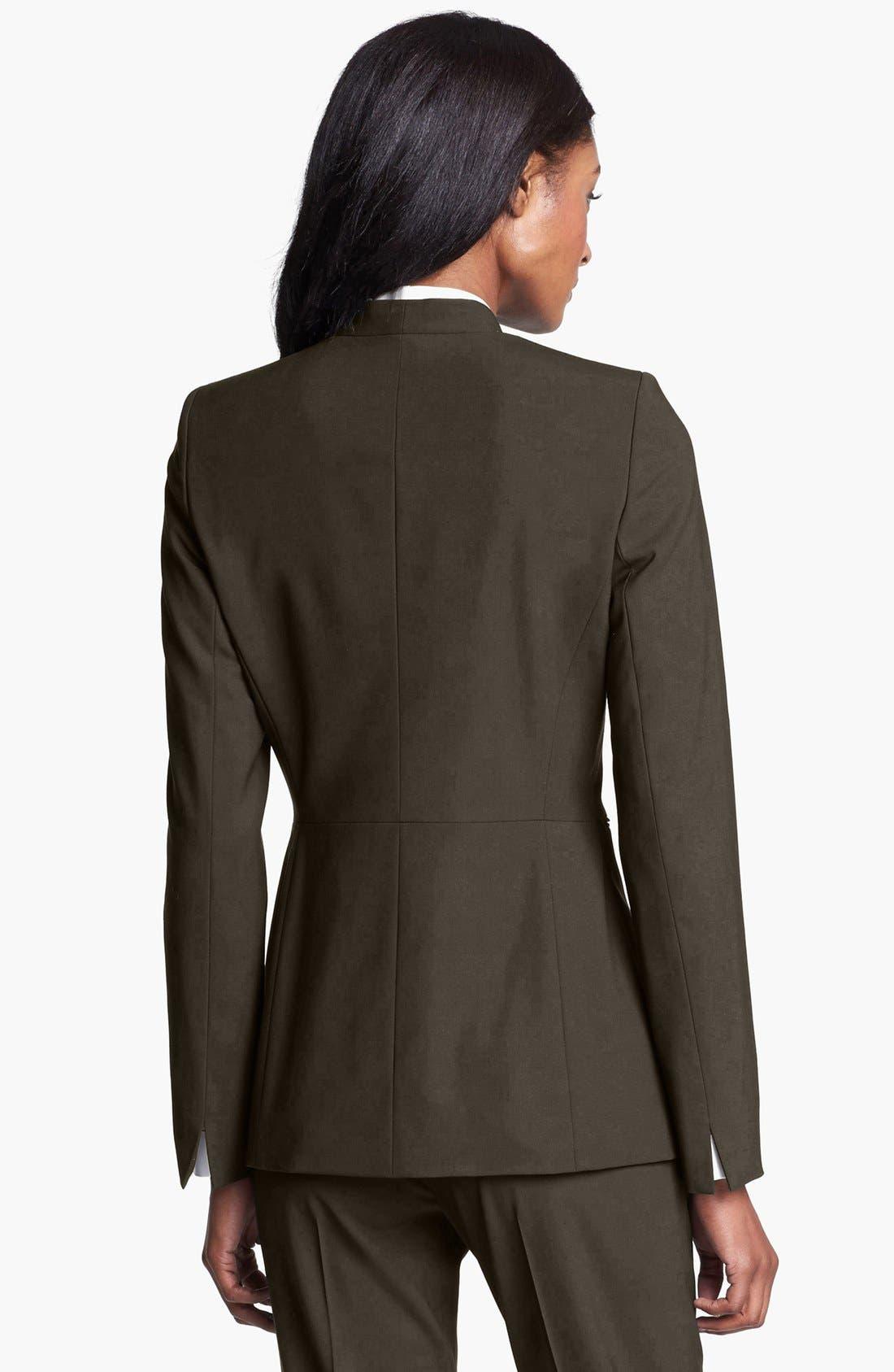 Alternate Image 2  - Lafayette 148 New York 'Livia' Stretch Wool Jacket