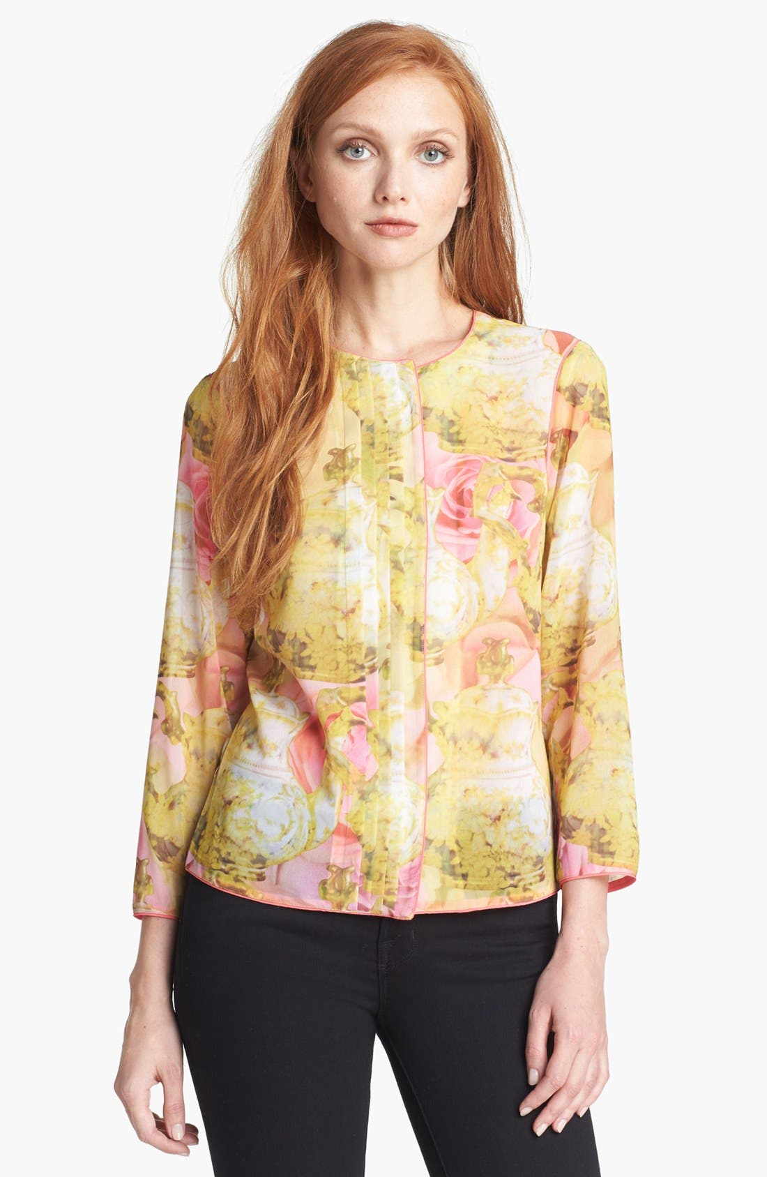 Alternate Image 1 Selected - Ted Baker London 'Rubea - Tea Party' Print Shirt