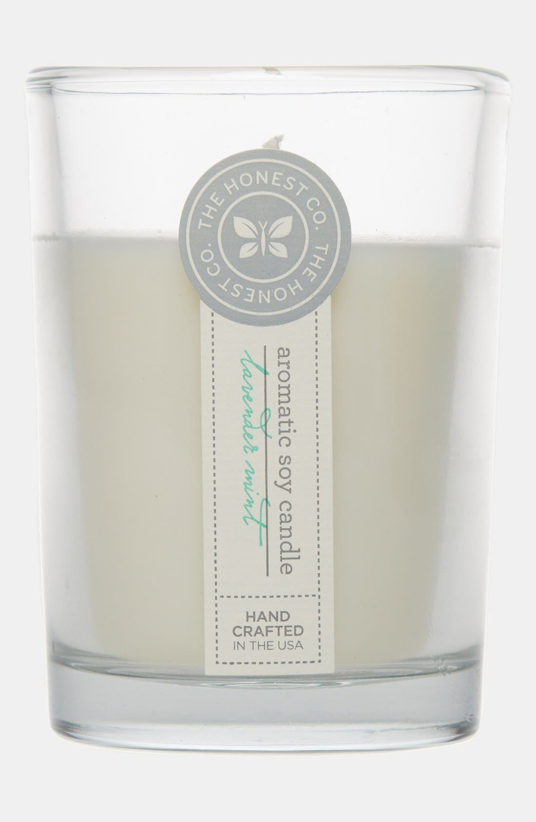 Main Image - The Honest Company 'Lavender Mint' Aromatic Soy Candle