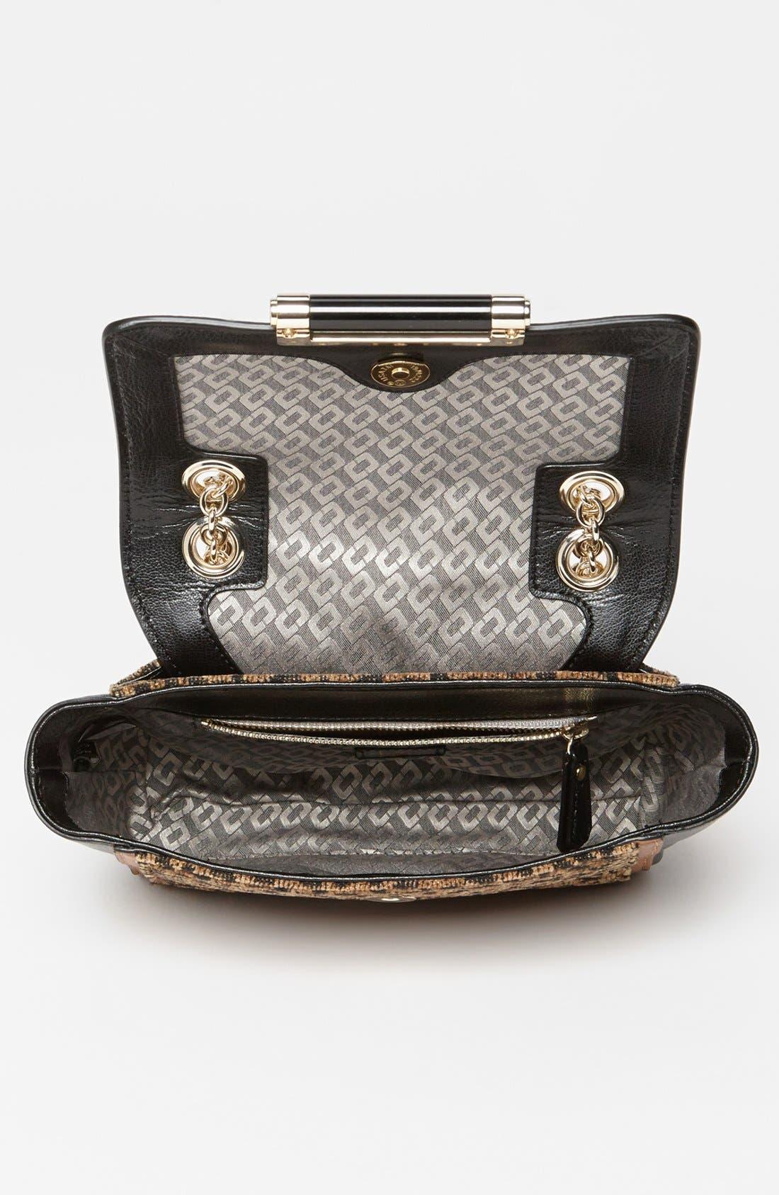 Alternate Image 3  - Diane von Furstenberg '440 - Mini' Leopard Jacquard Crossbody Bag