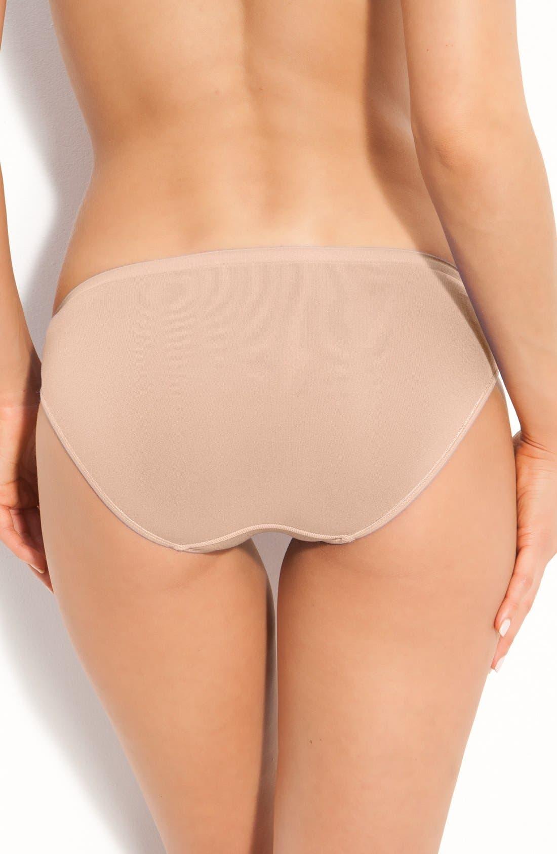 Alternate Image 2  - Shimera Seamless Bikini Panties (Online Only)