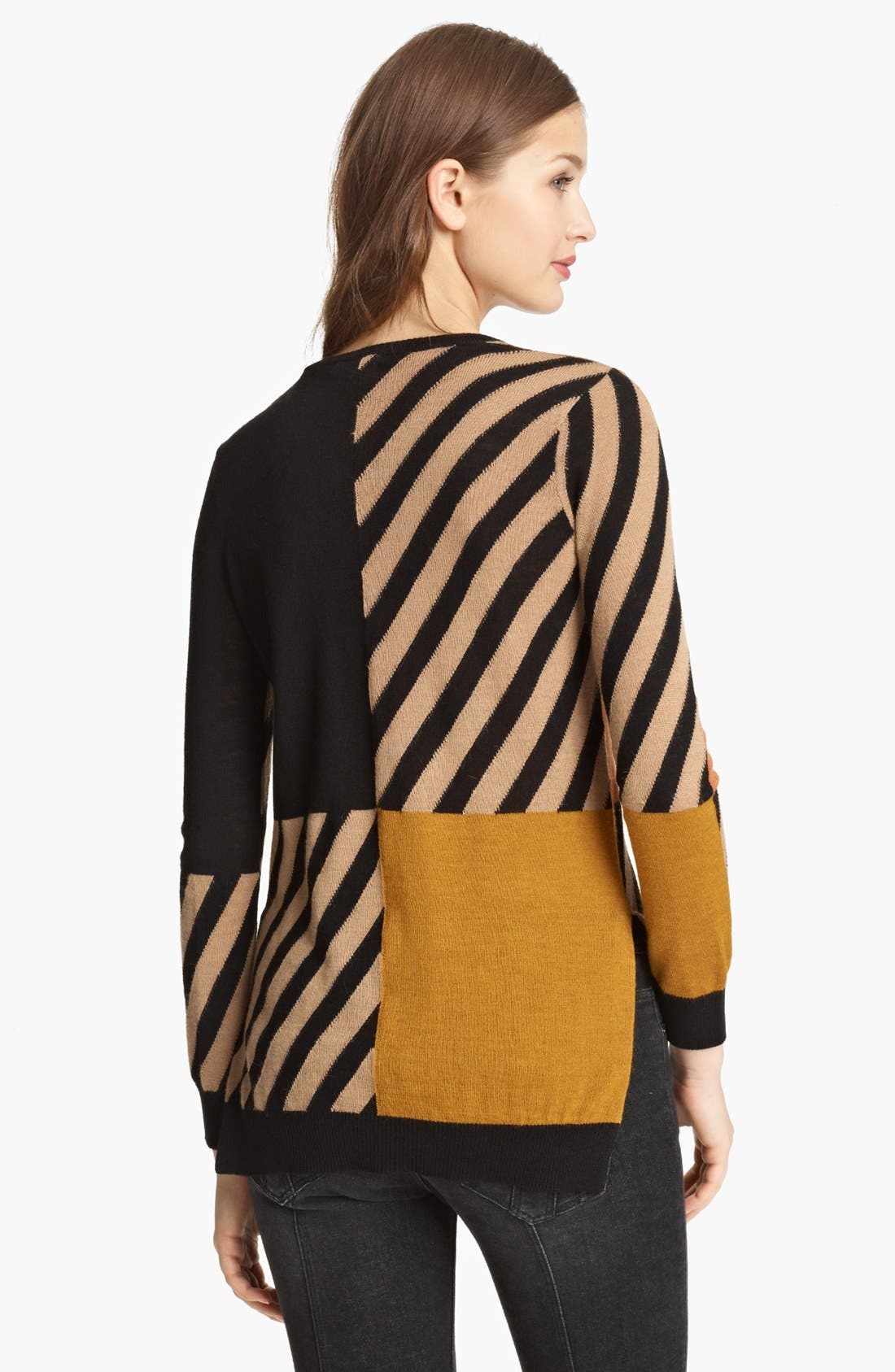 Alternate Image 2  - Burberry Brit Colorblock Sweater (Online Only)