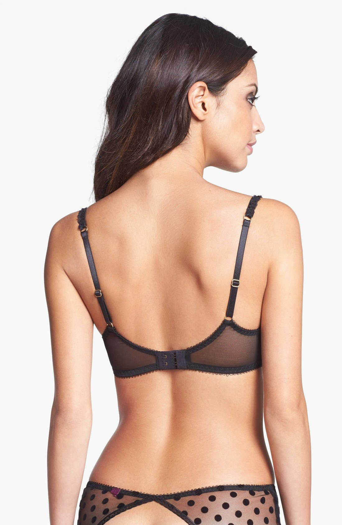 Alternate Image 3  - L'Agent by Agent Provocateur 'Rosalyn Ouvert' Hipster Briefs