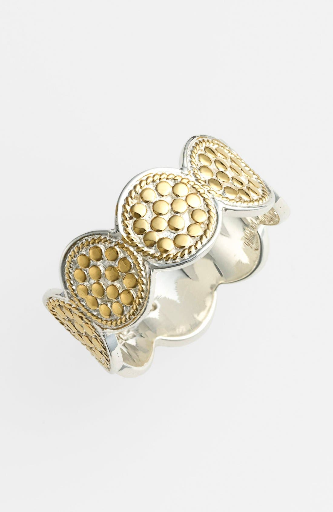 Alternate Image 1 Selected - Anna Beck 'Gili' Wire Rimmed Disc Band Ring