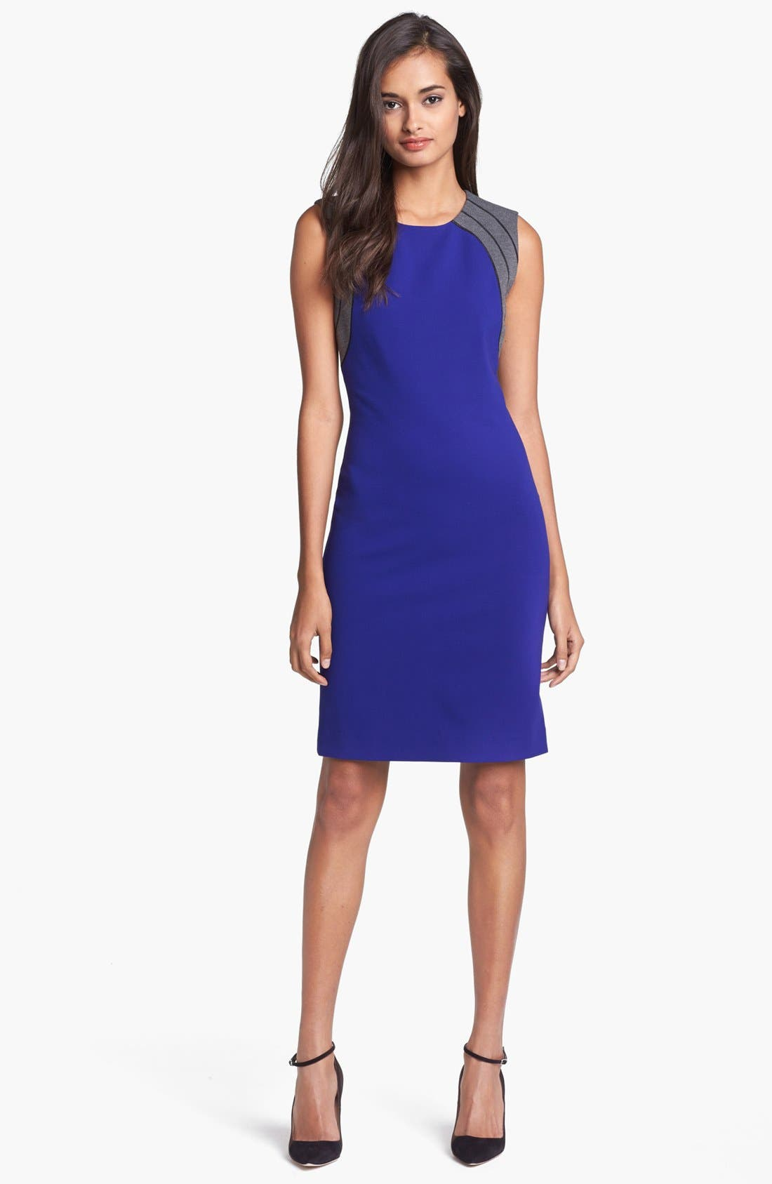 Alternate Image 1 Selected - Diane von Furstenberg 'Hallie' Knit Sheath Dress