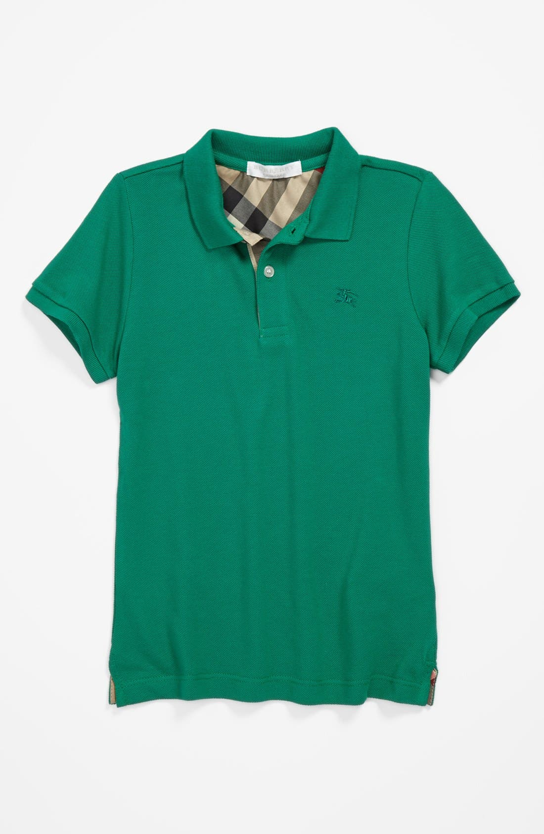 Main Image - Burberry 'Mini' Polo (Little Boys & Big Boys)