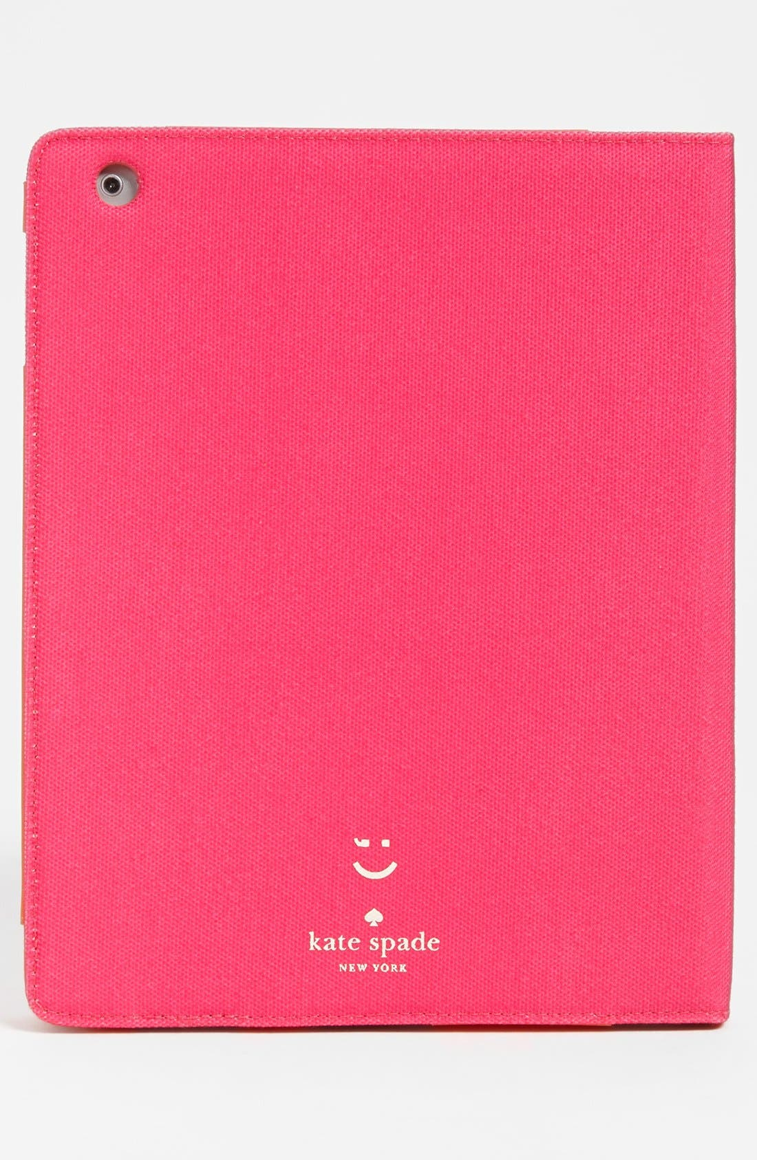 Alternate Image 4  - kate spade new york 'emoticons' iPad folio